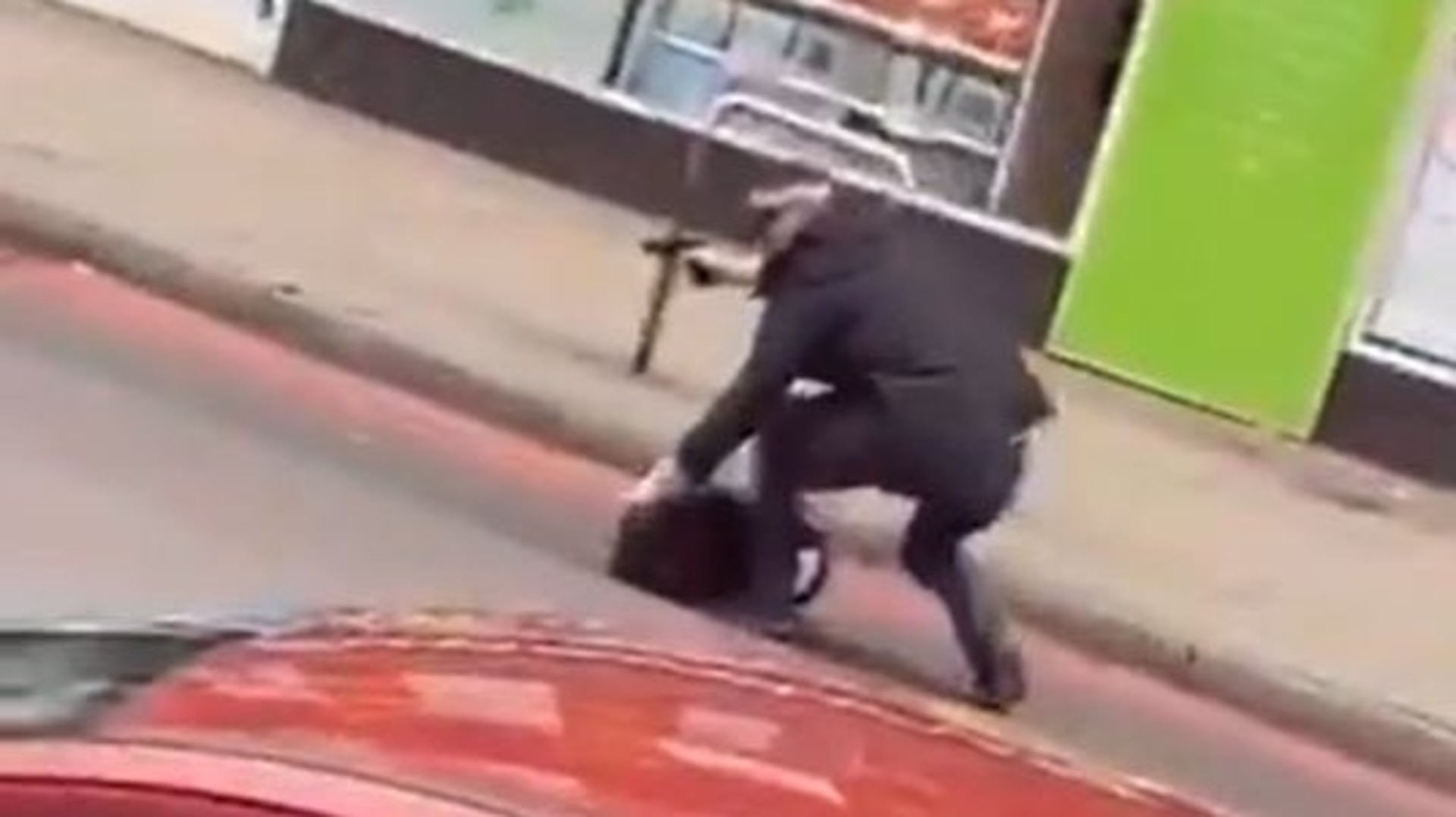 Armed officer on Streatham High Road