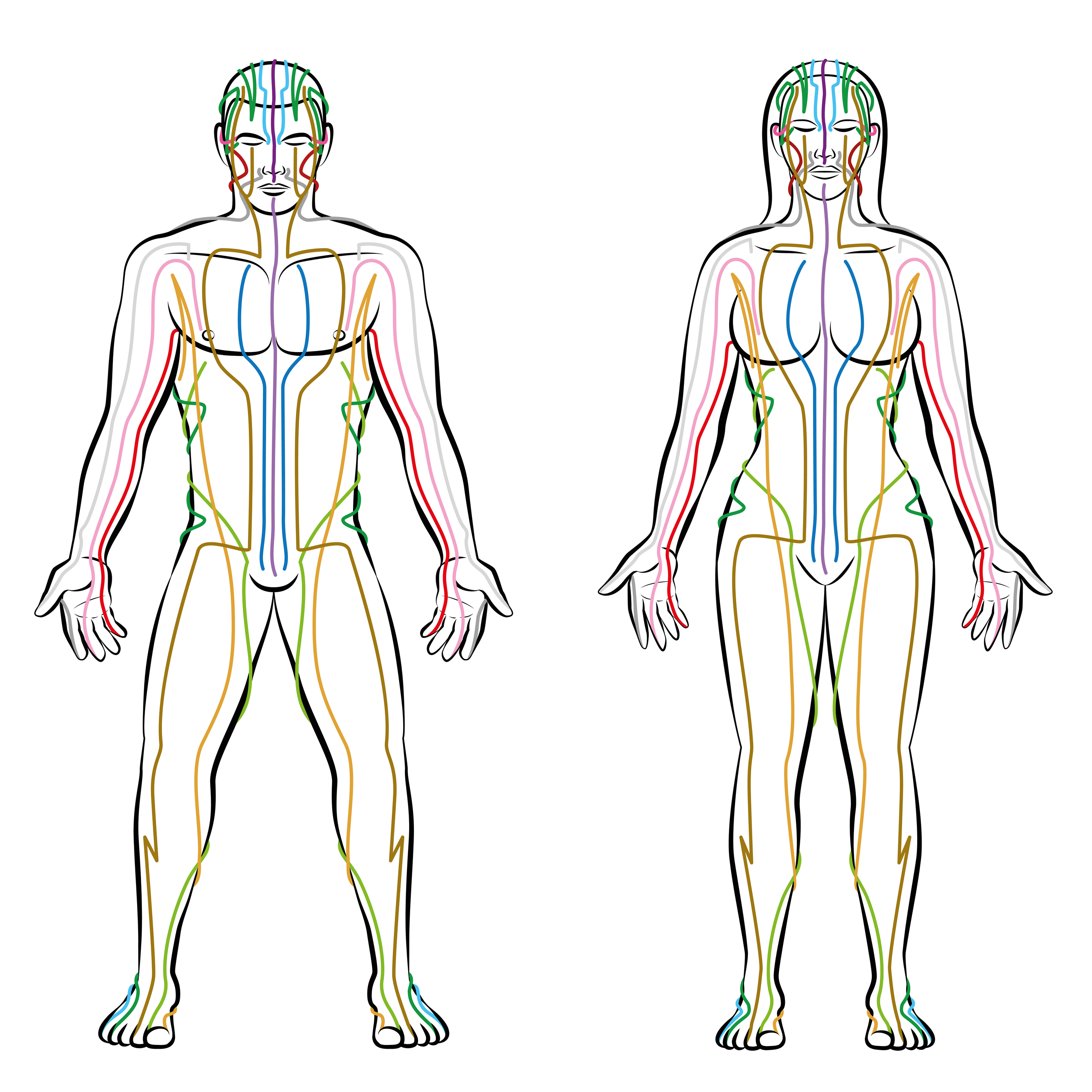 Traditionally, EFT is about 'tapping' into the body's meridian channels (iStock/PA)