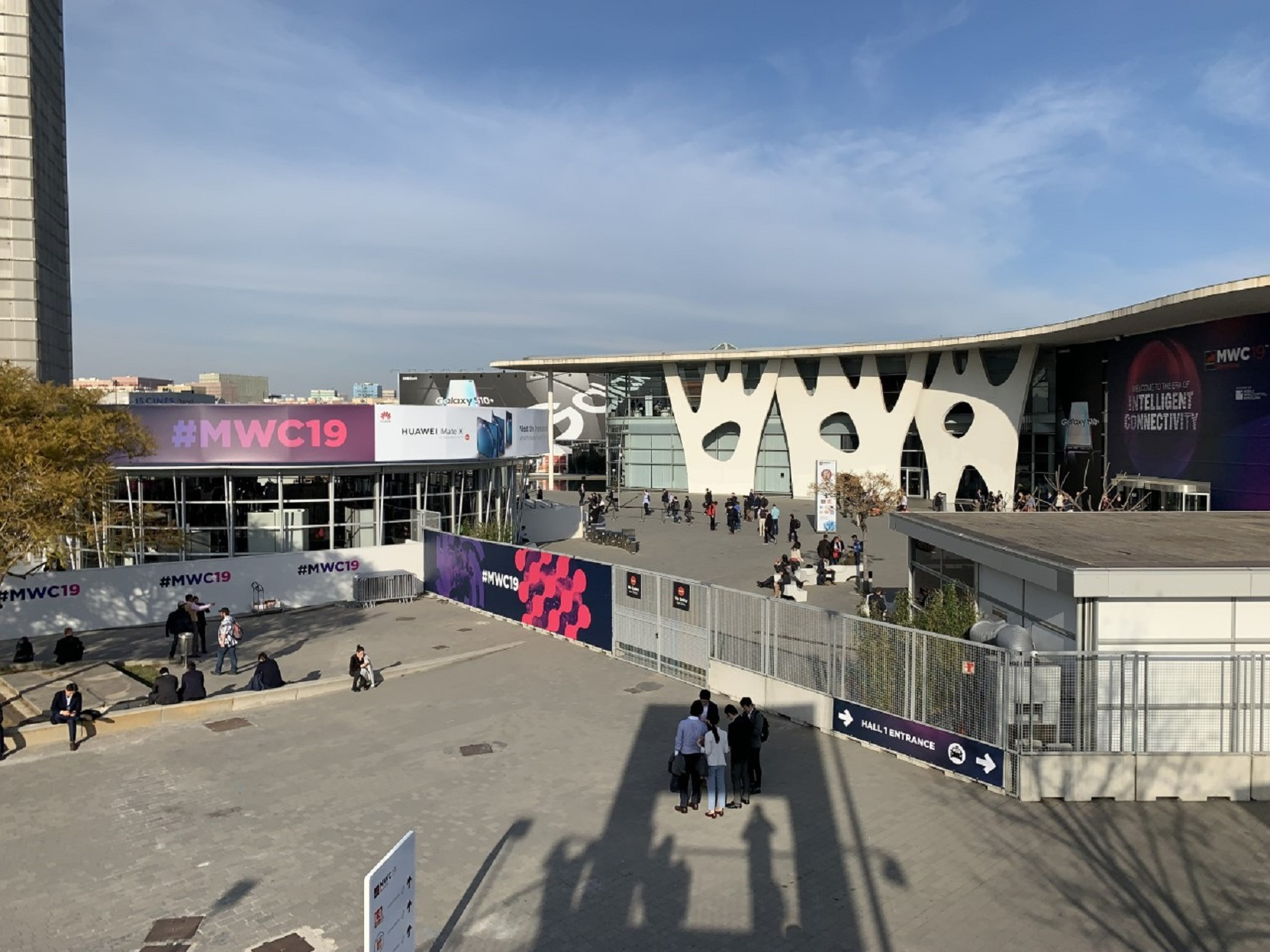 The 2019 Mobile World Congress in Barcelona