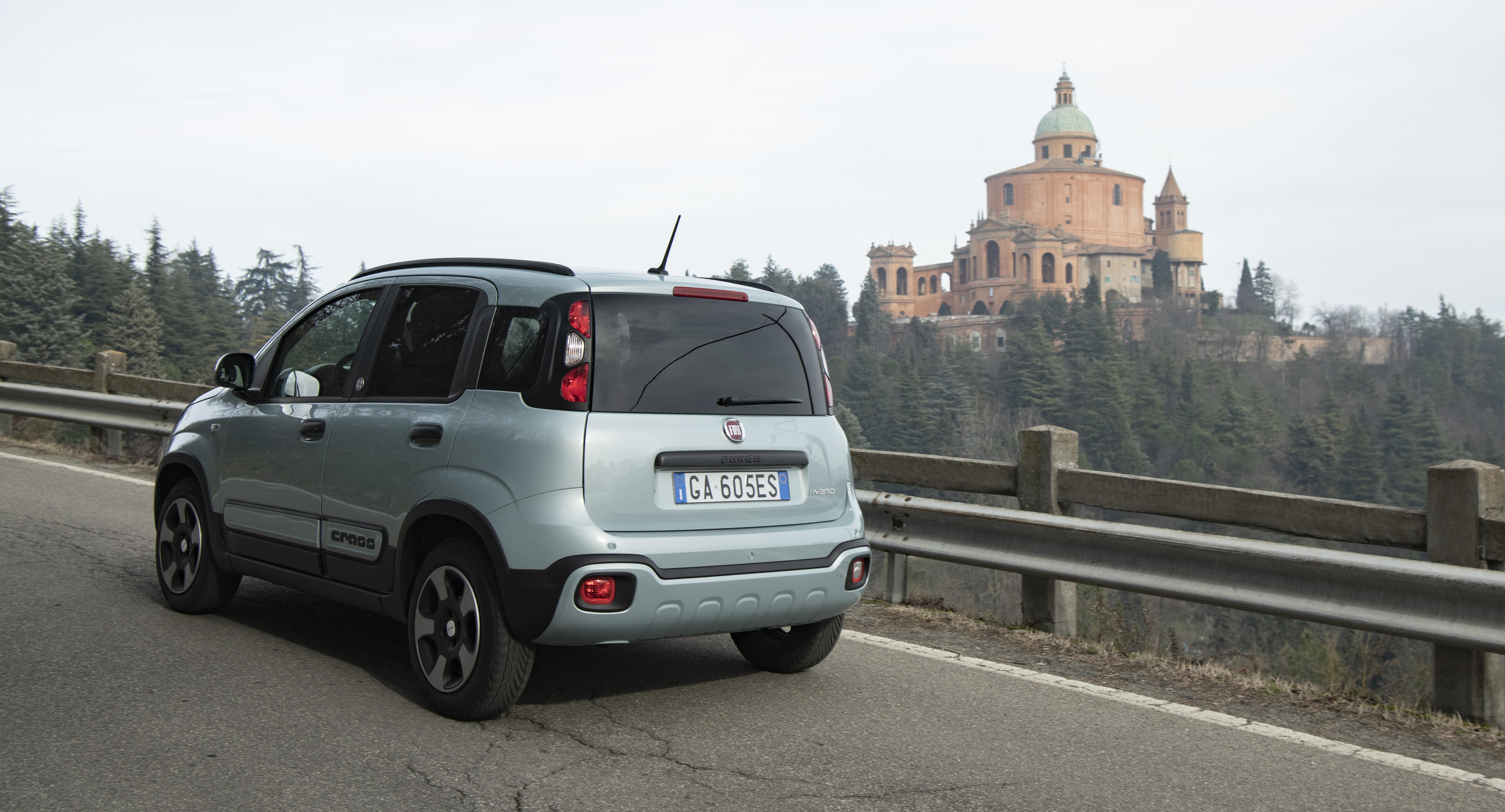 Fiat Panda Exterior rear