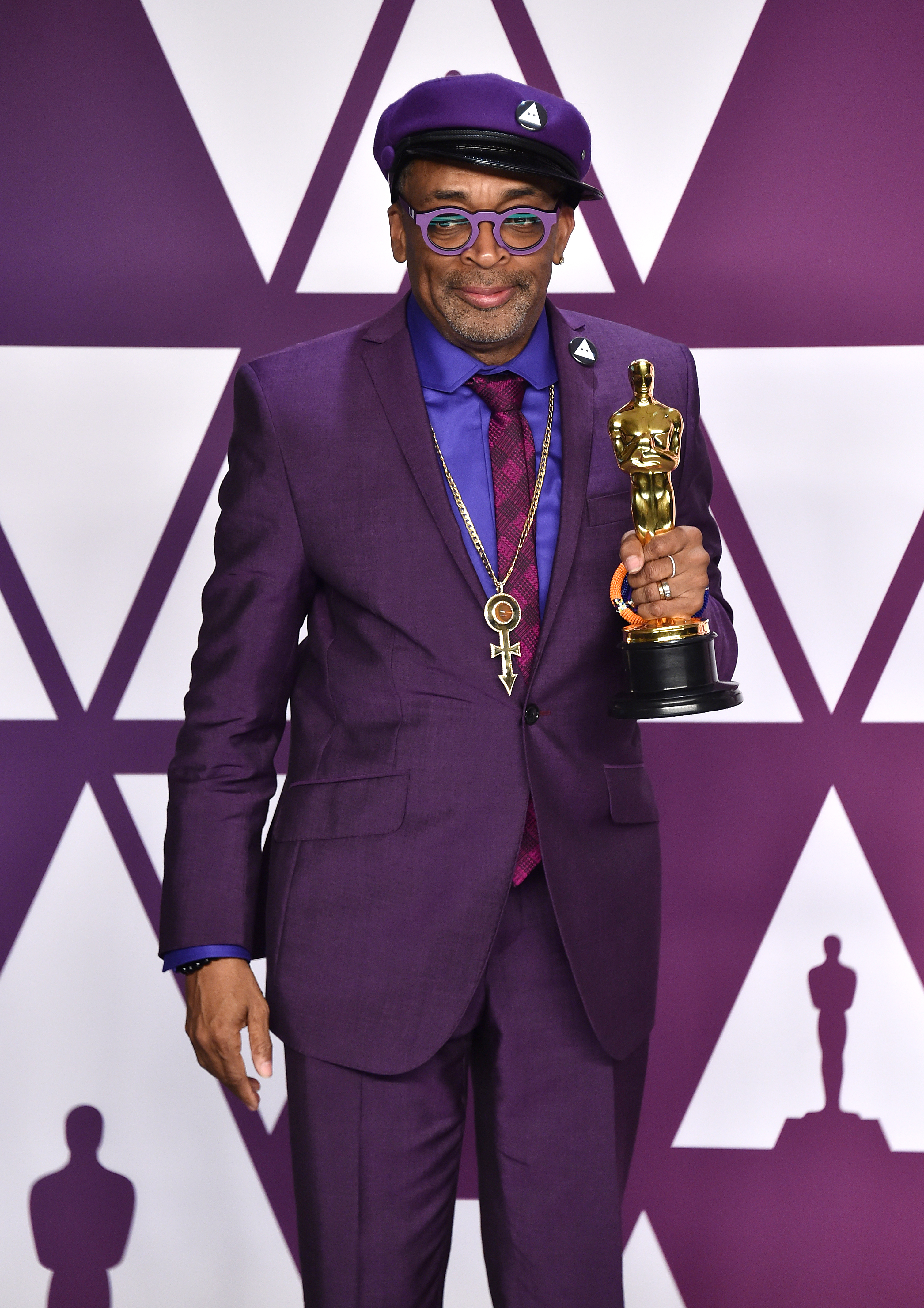 Spike Lee at last year's Oscars