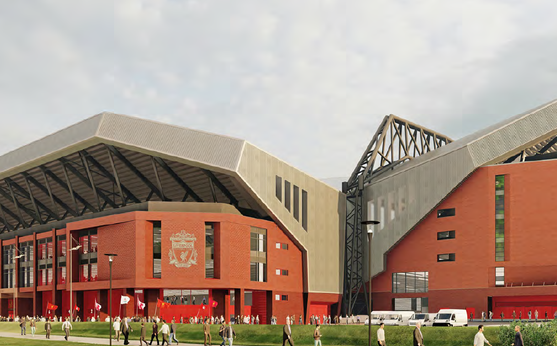 Liverpool hope to start work on redevelopment of the Anfield Road Stand later this year