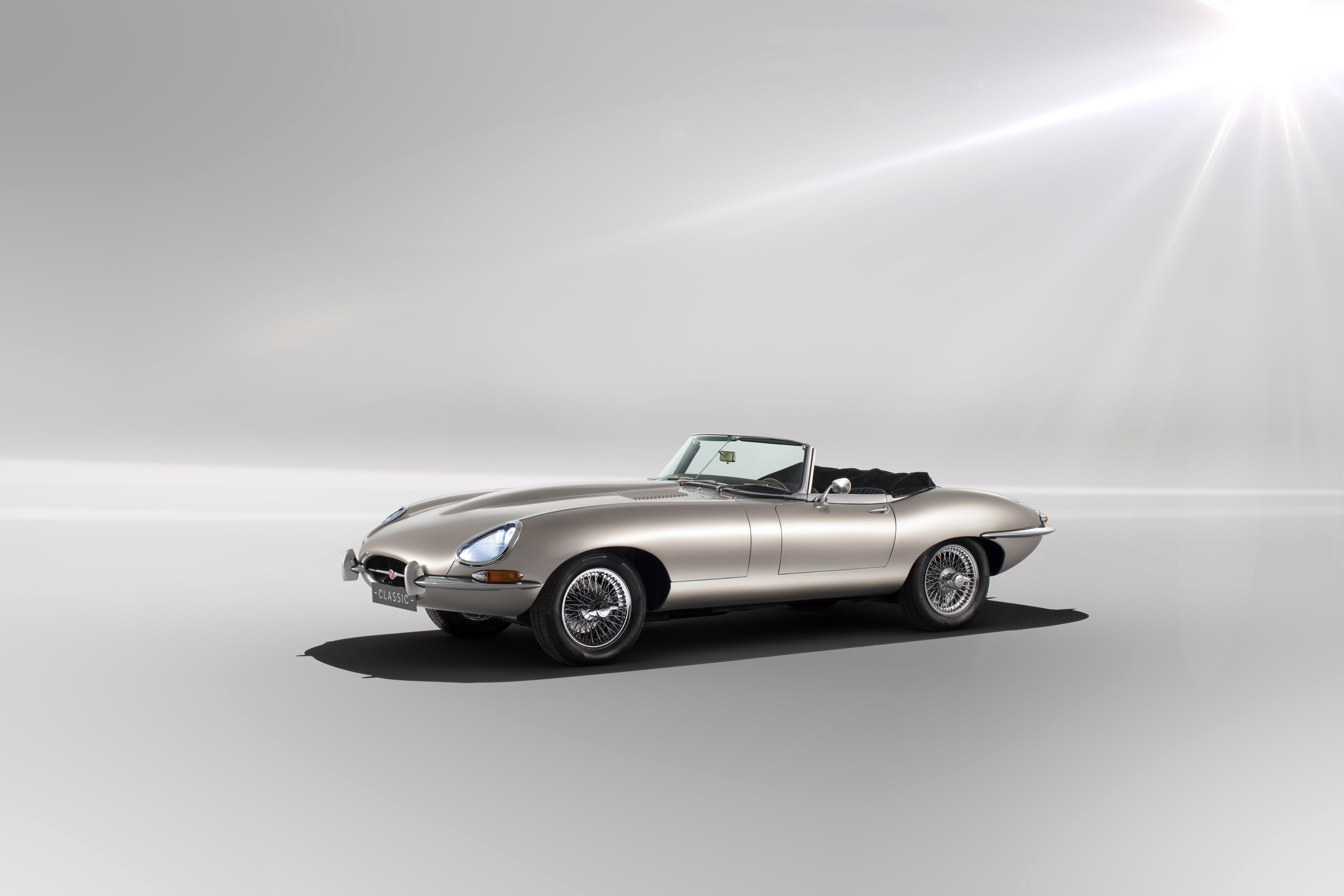 Jaguar E-Type EV