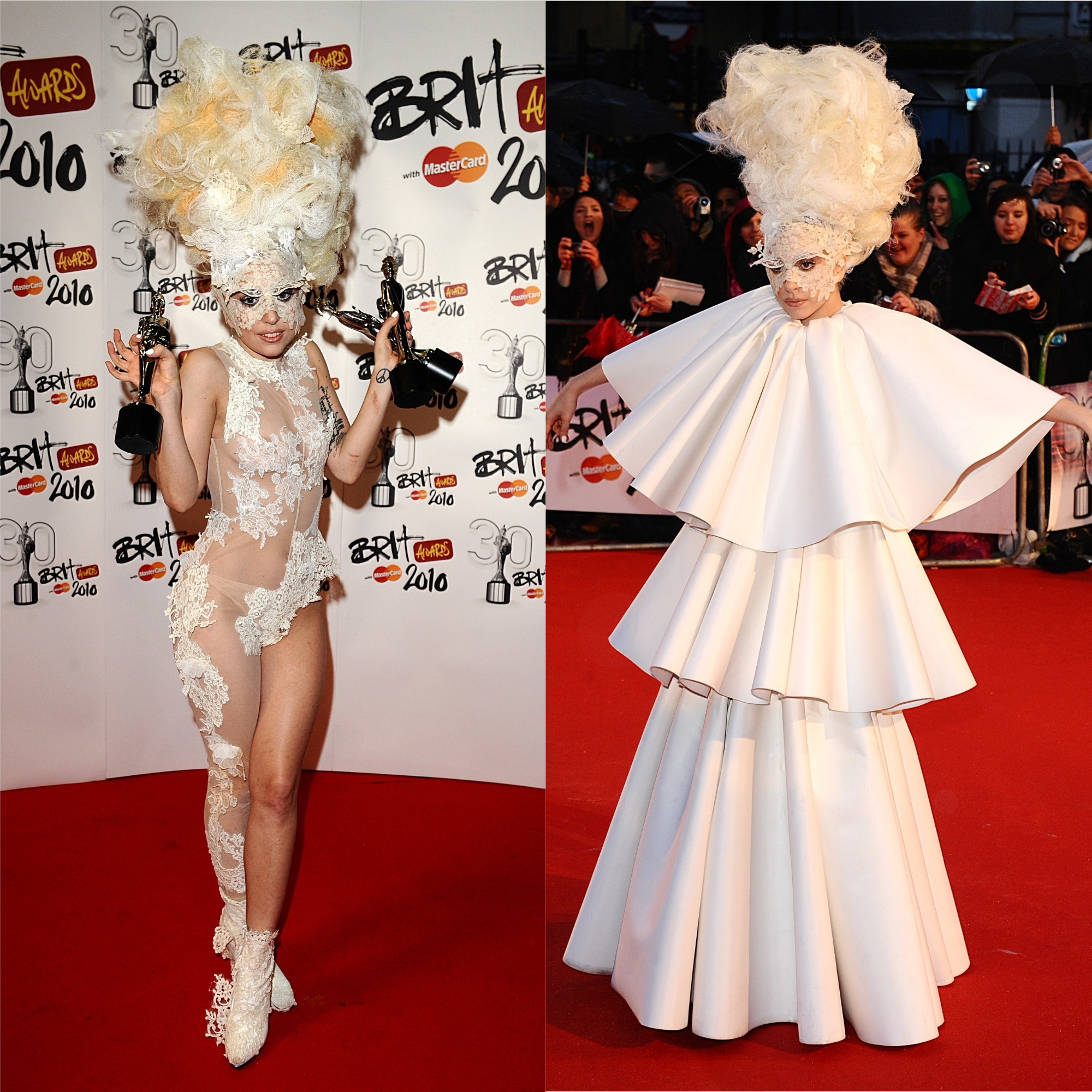 Lady Gaga in 2010