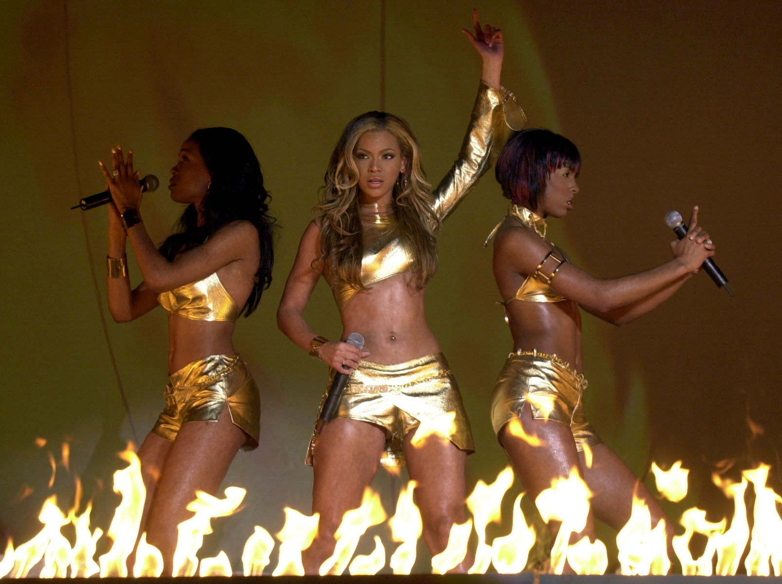Destiny's Child in 2001
