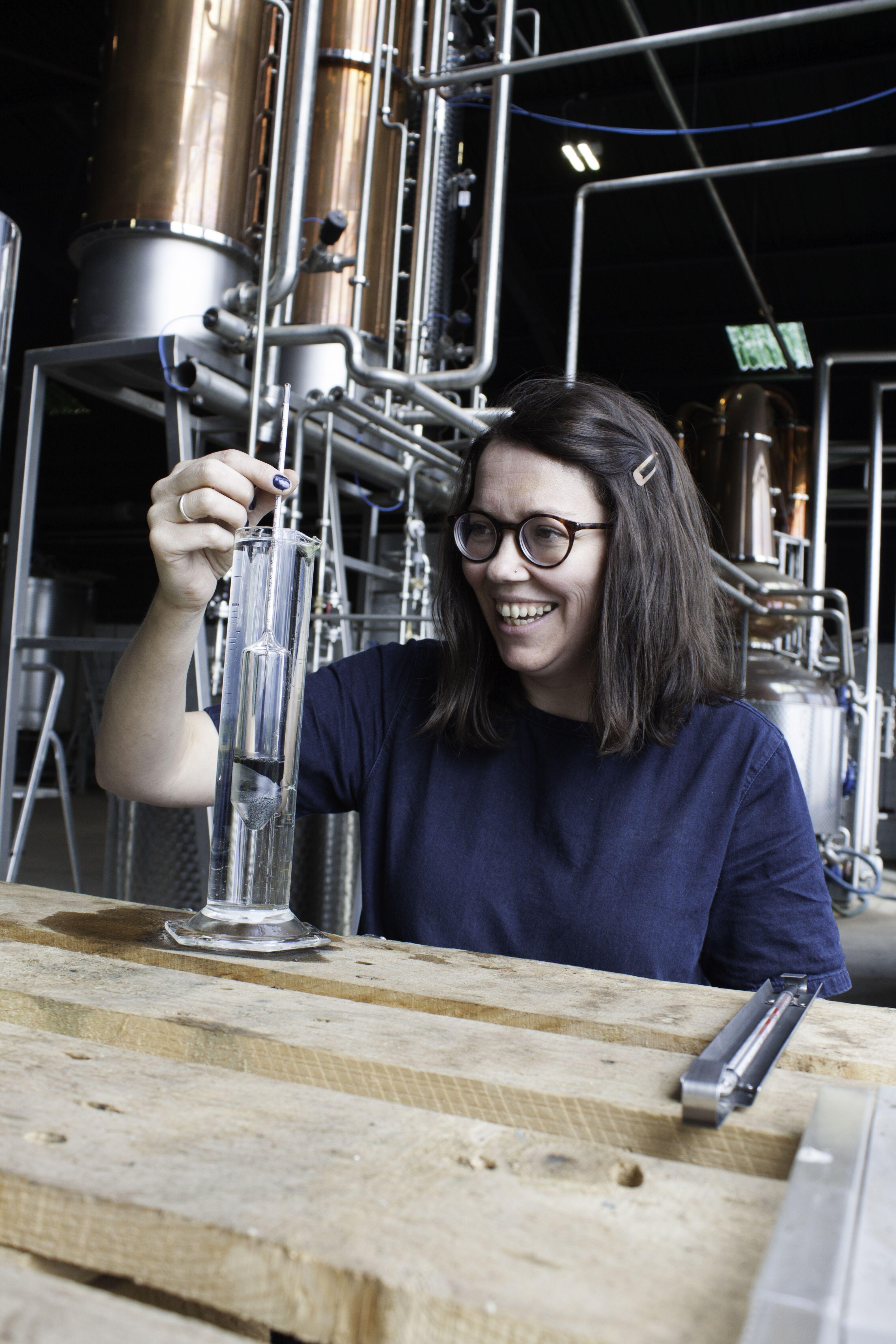 Arbikie Master Distiller Kirsty Black