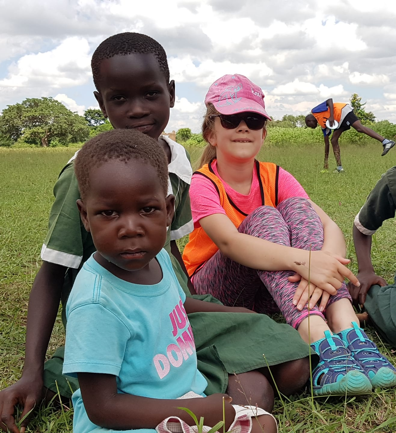 Children of aid worker taken to Uganda