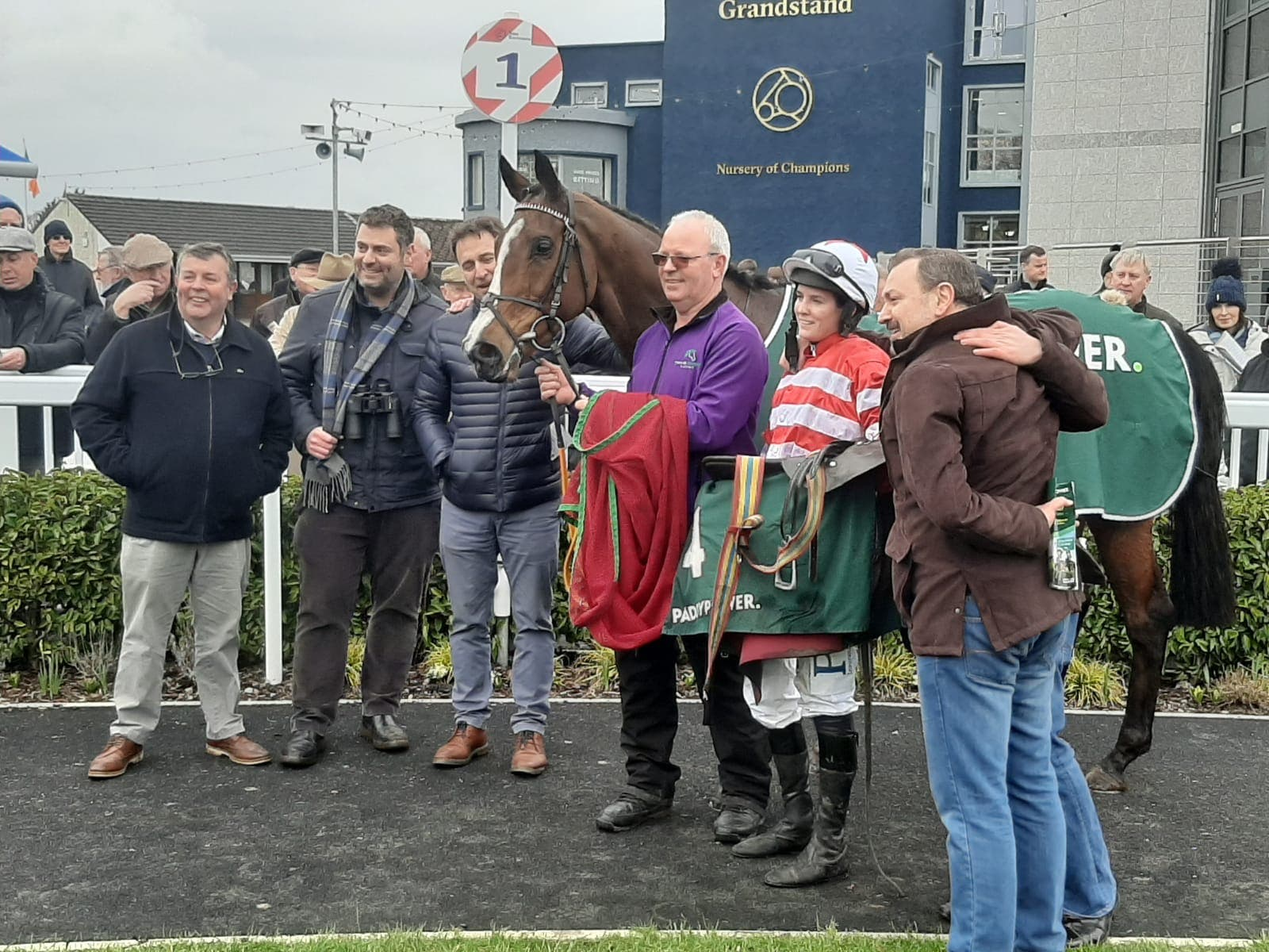 Jason The Militant with winning connections (Alan Magee/PA)