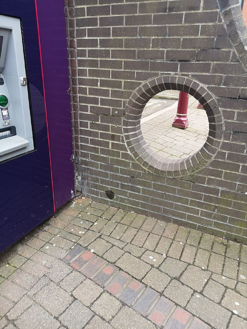 The NatWest hole in Ilkeston