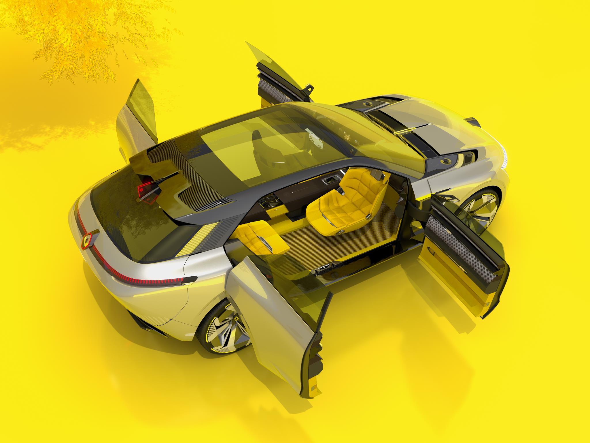 Renault Morphoz cabin