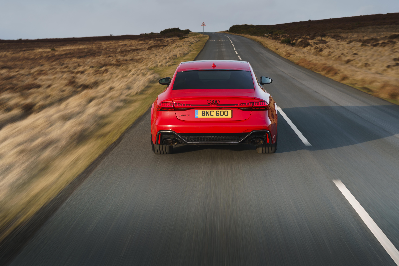 RS7 rear