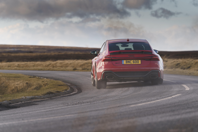 Audi RS 7 Dynamic cornering