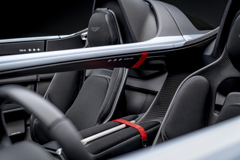 Aston Martin Speedster Interior