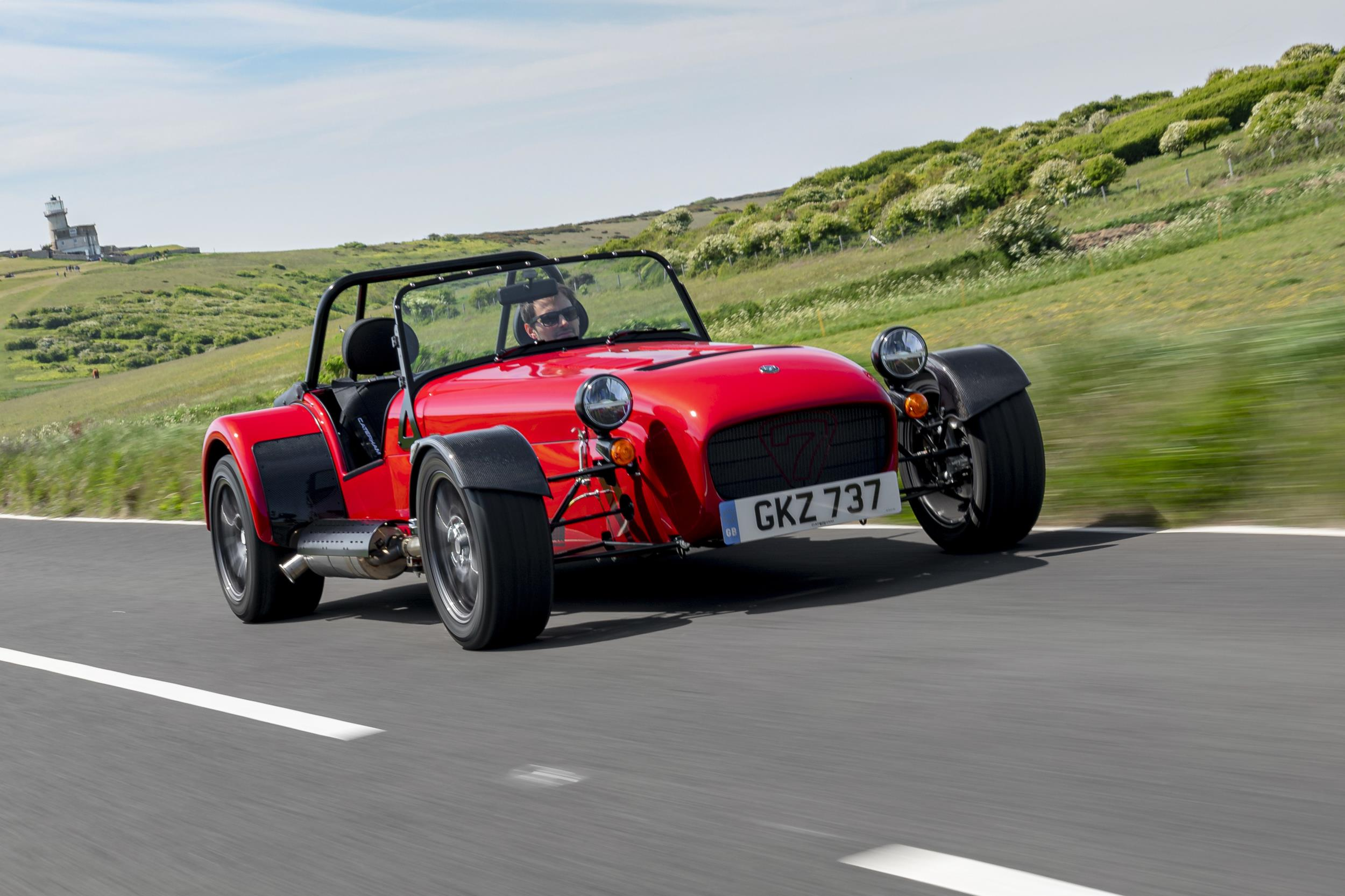Caterham Seven dynamic