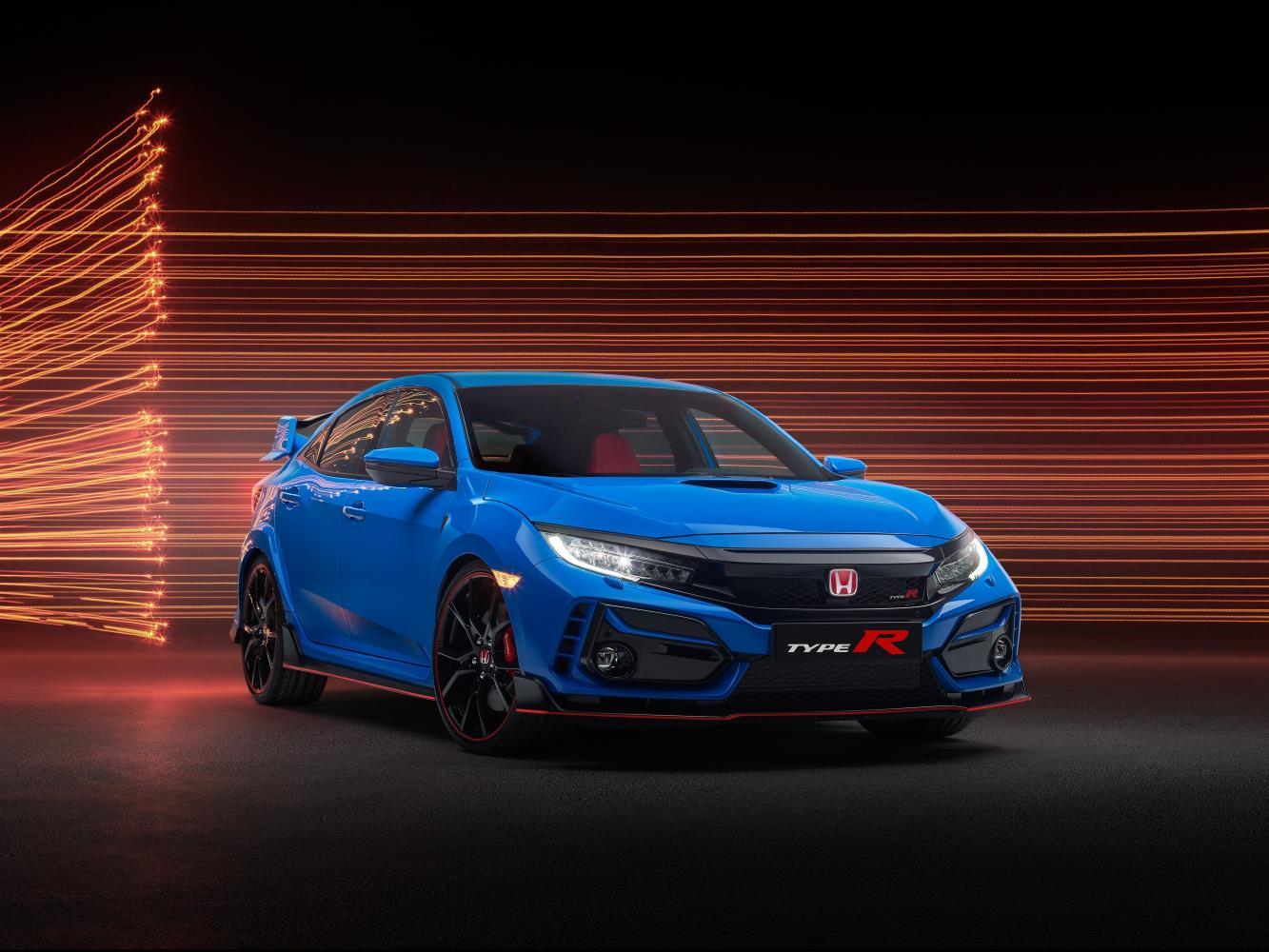 Honda Civic Type R static