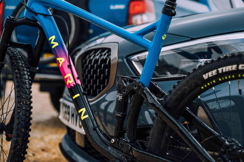 Bike test detail BMW