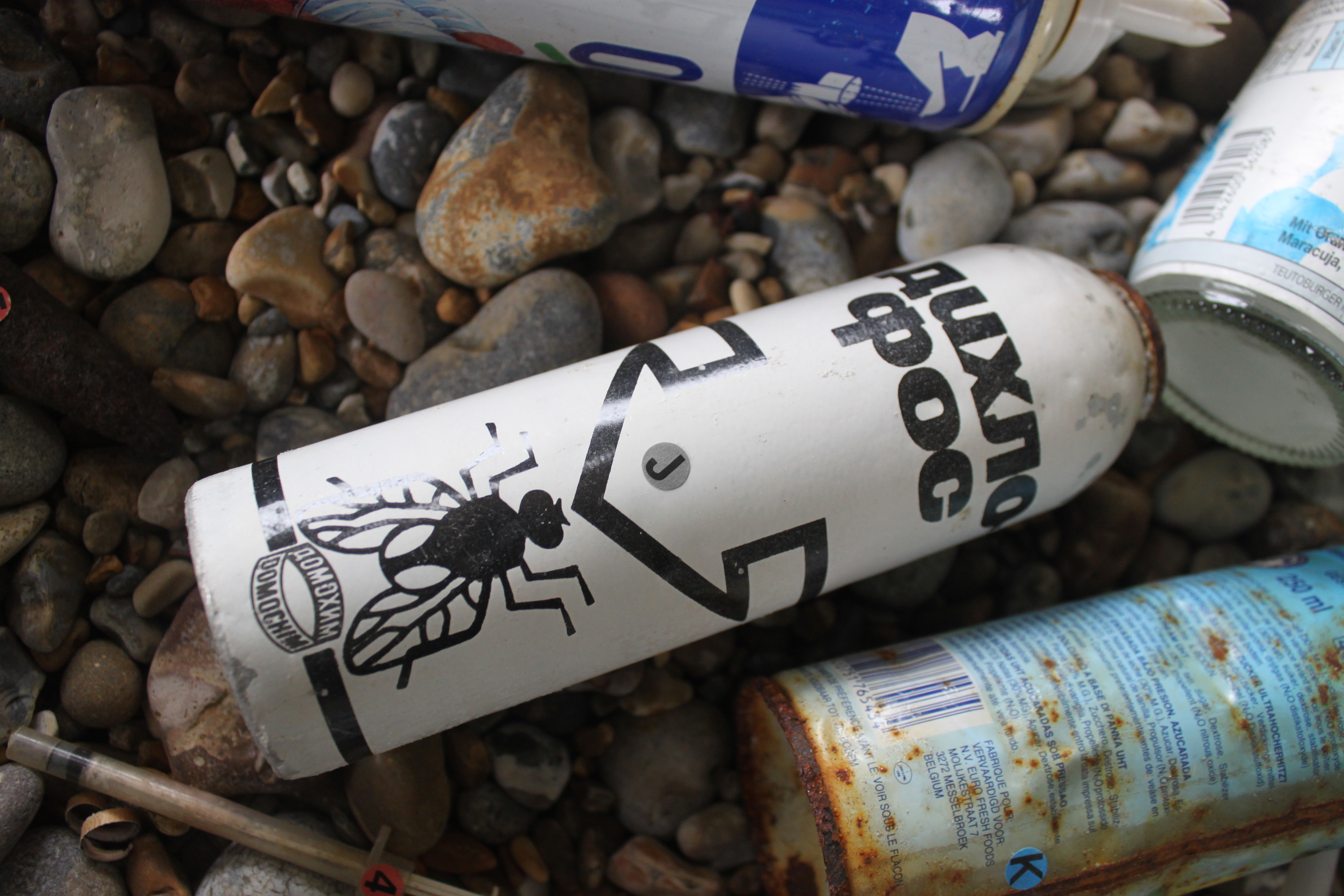 Russian bug spray was found at Orford Ness (National Trust/Glen Pearce/PA)