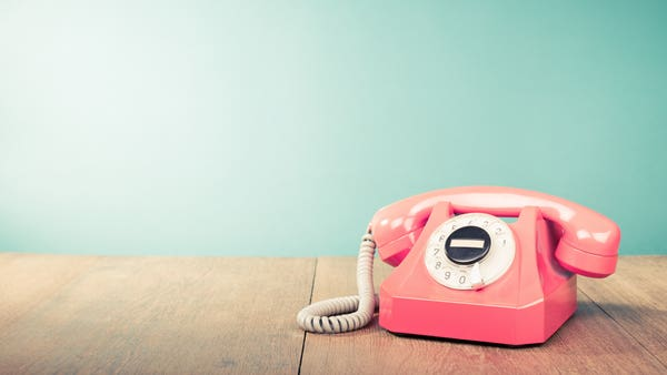 Why making an 'actual' phone call is good for your mental health