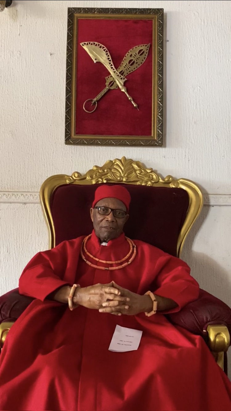 Prince Edun Akenzua of the Royal Court of Benin wants to see the artefacts returned to his country (BBC/PA).
