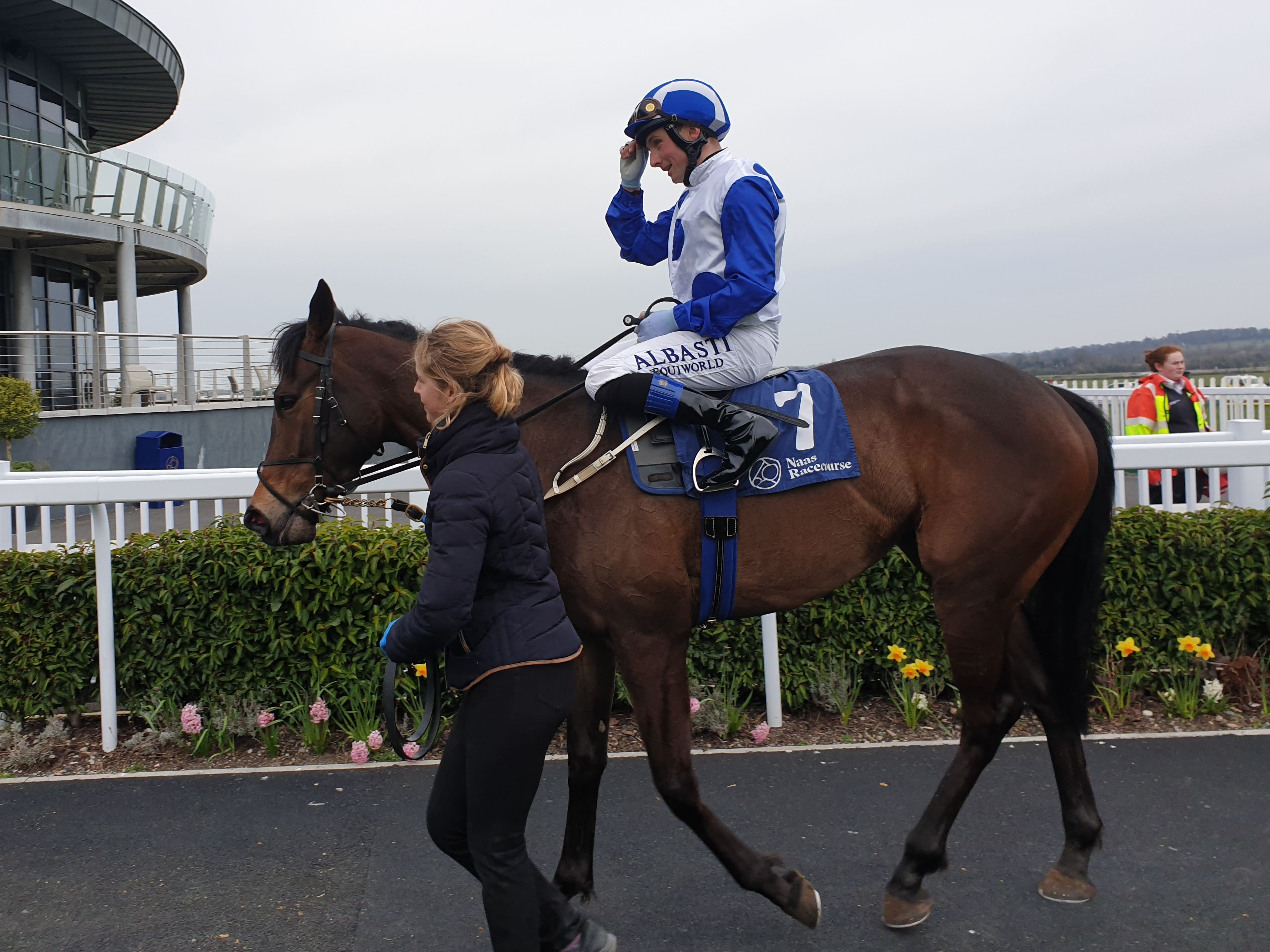 Lemista left better fancied stablemate Even So trailing (Gary Carson/PA)