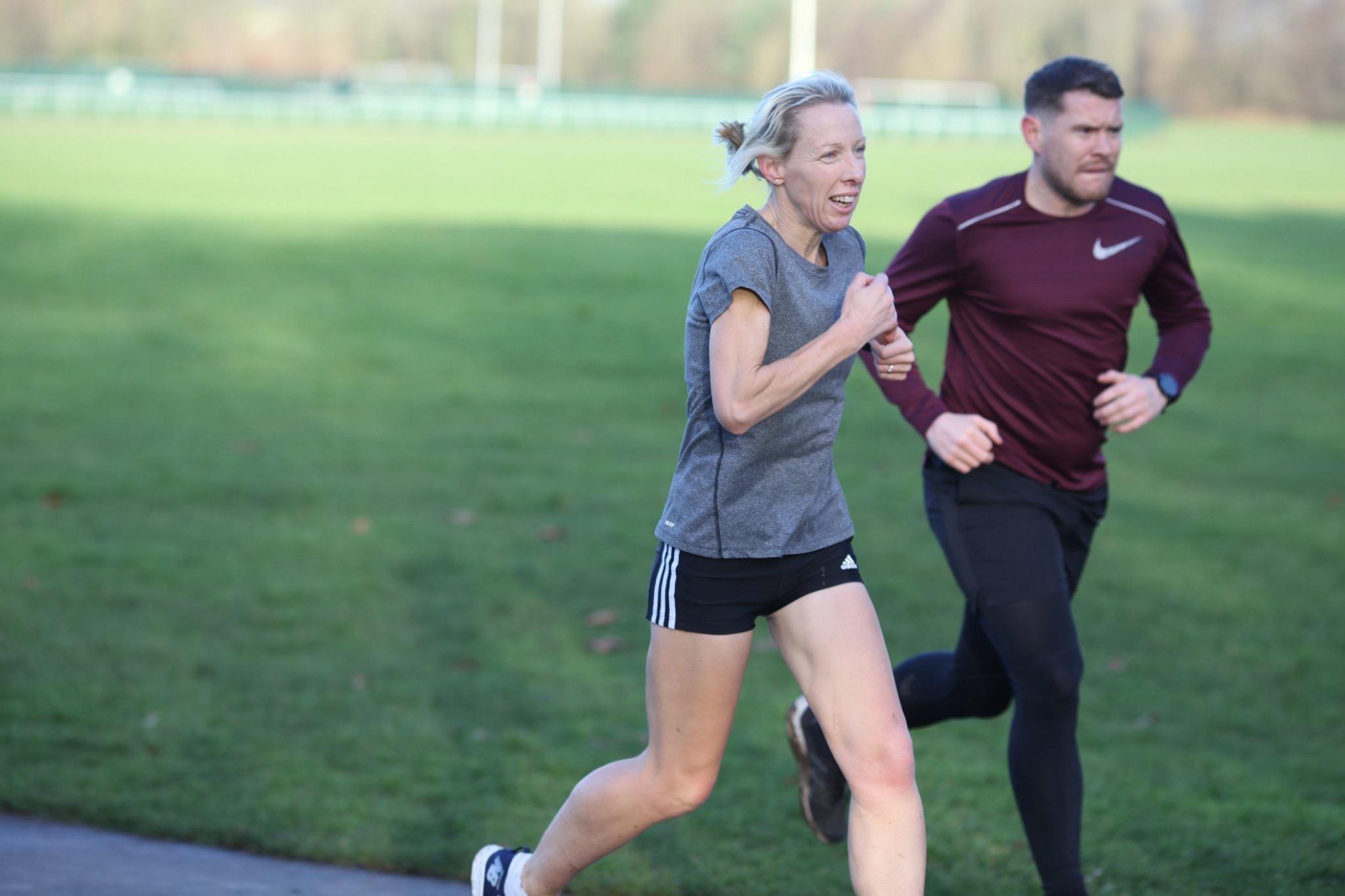 Louise Blizzard ran her first London Marathon in 1994