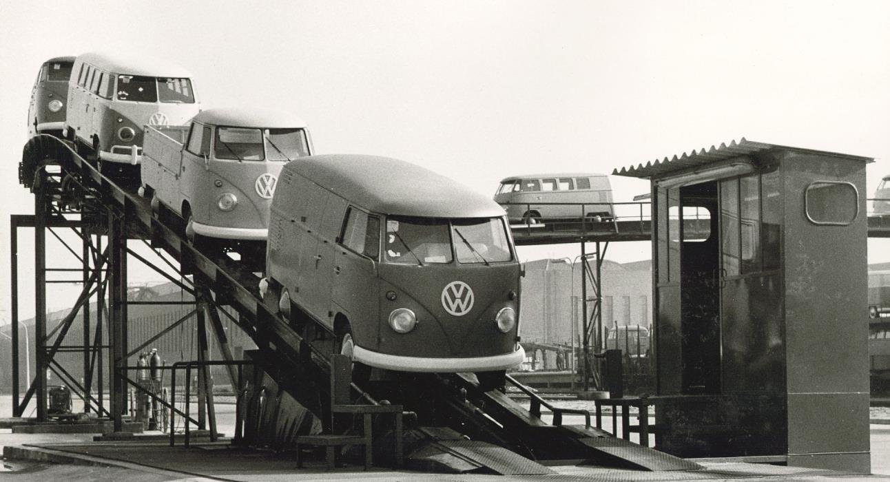 Volkswagen Transporter celebrates its 70th anniversary having first rolled off the production line in March 1950