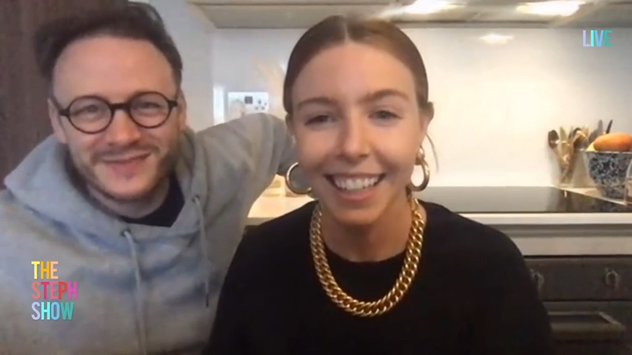 Stacey Dooley and Kevin Clifton on The Steph Show