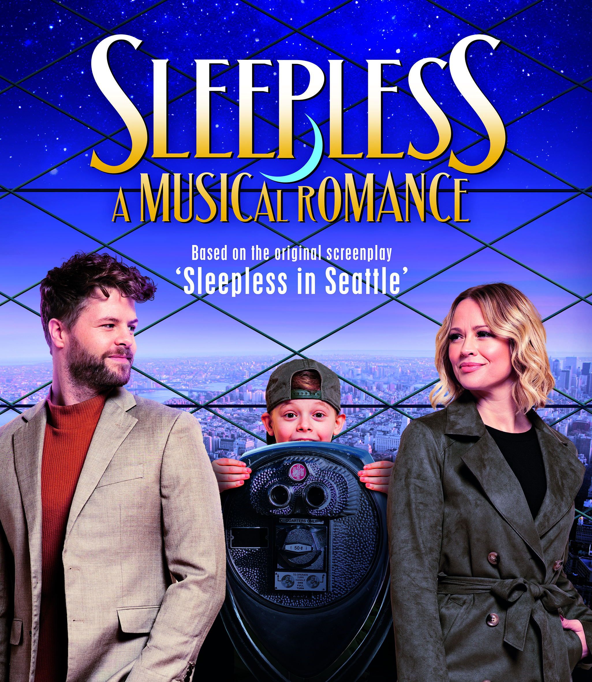 Poster for Sleepless, A Musical Romance