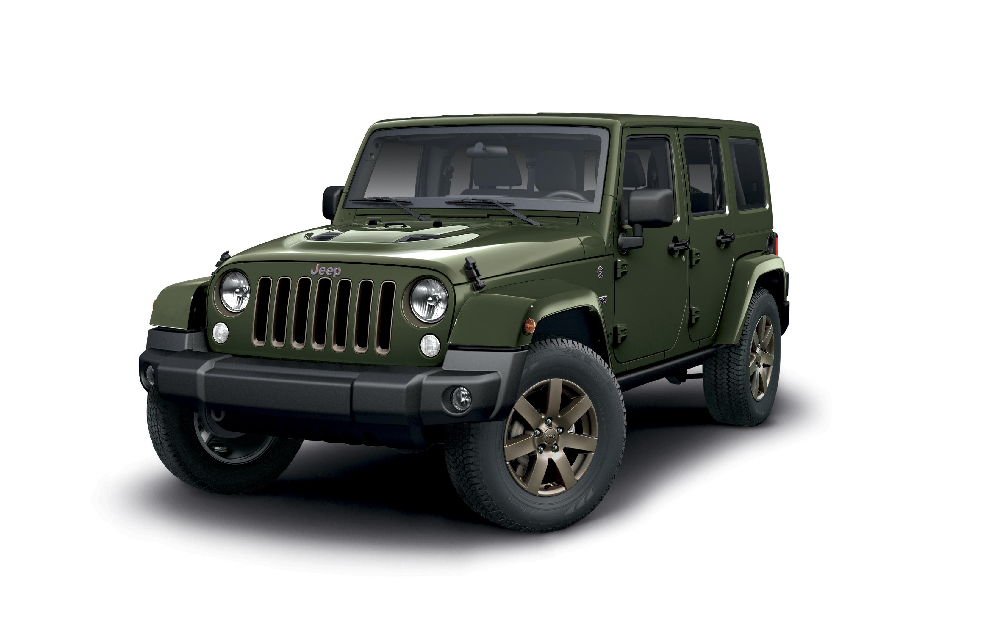 Jeep Wrangler static