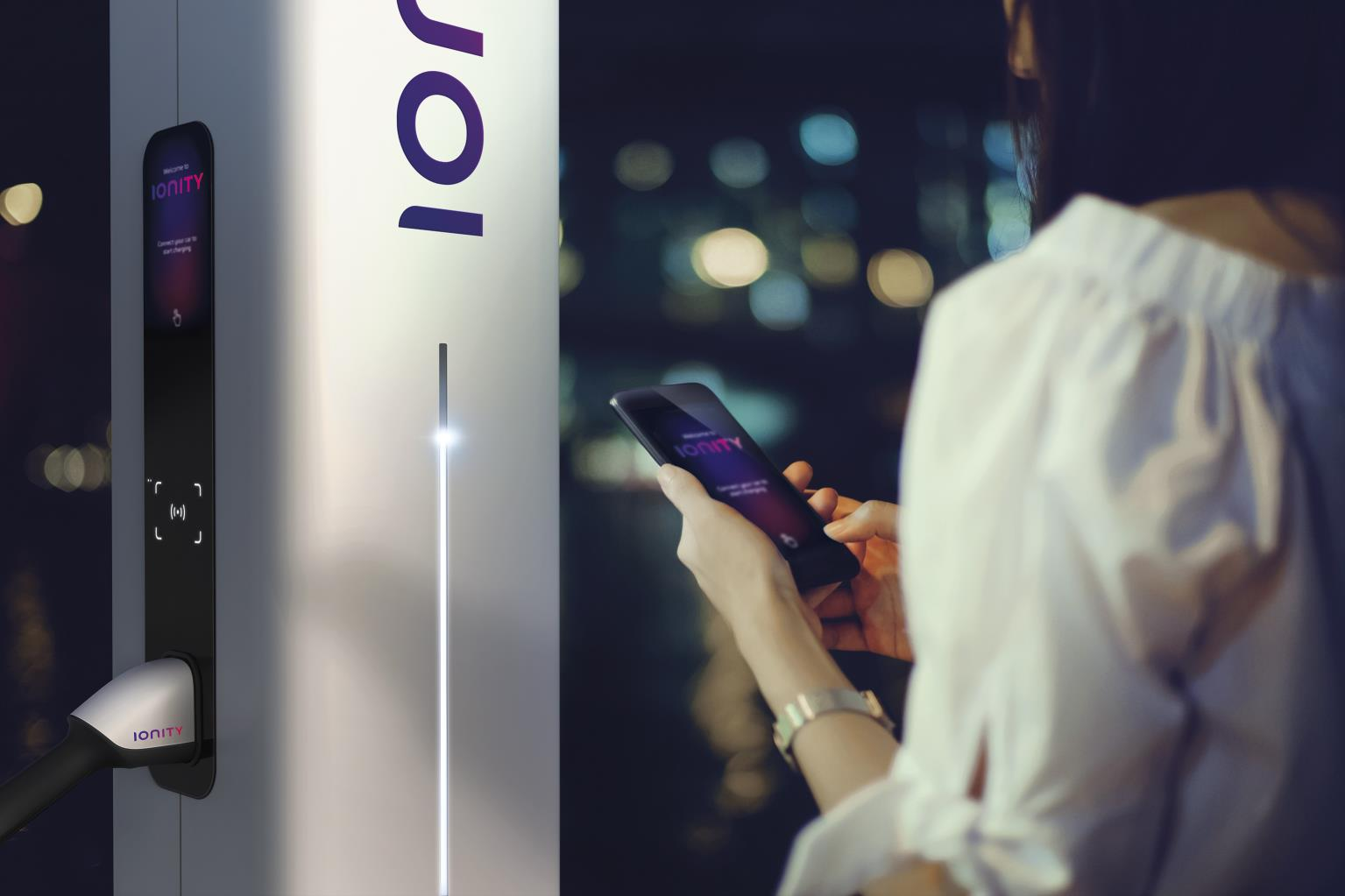Ionity fast charging