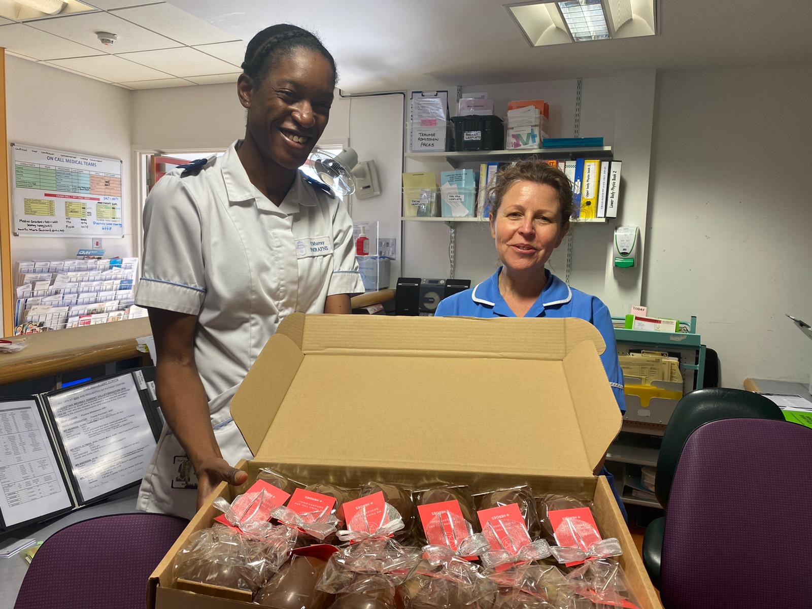Easter Eggs Delivered To Hospitals As Thanks To Healthcare Workers Shropshire Star