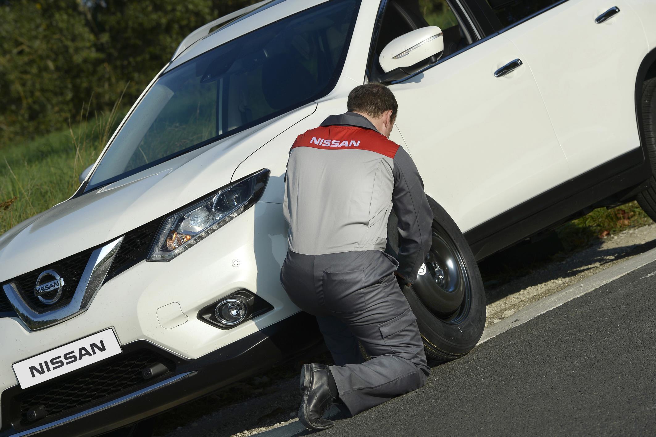 Nissan breakdown
