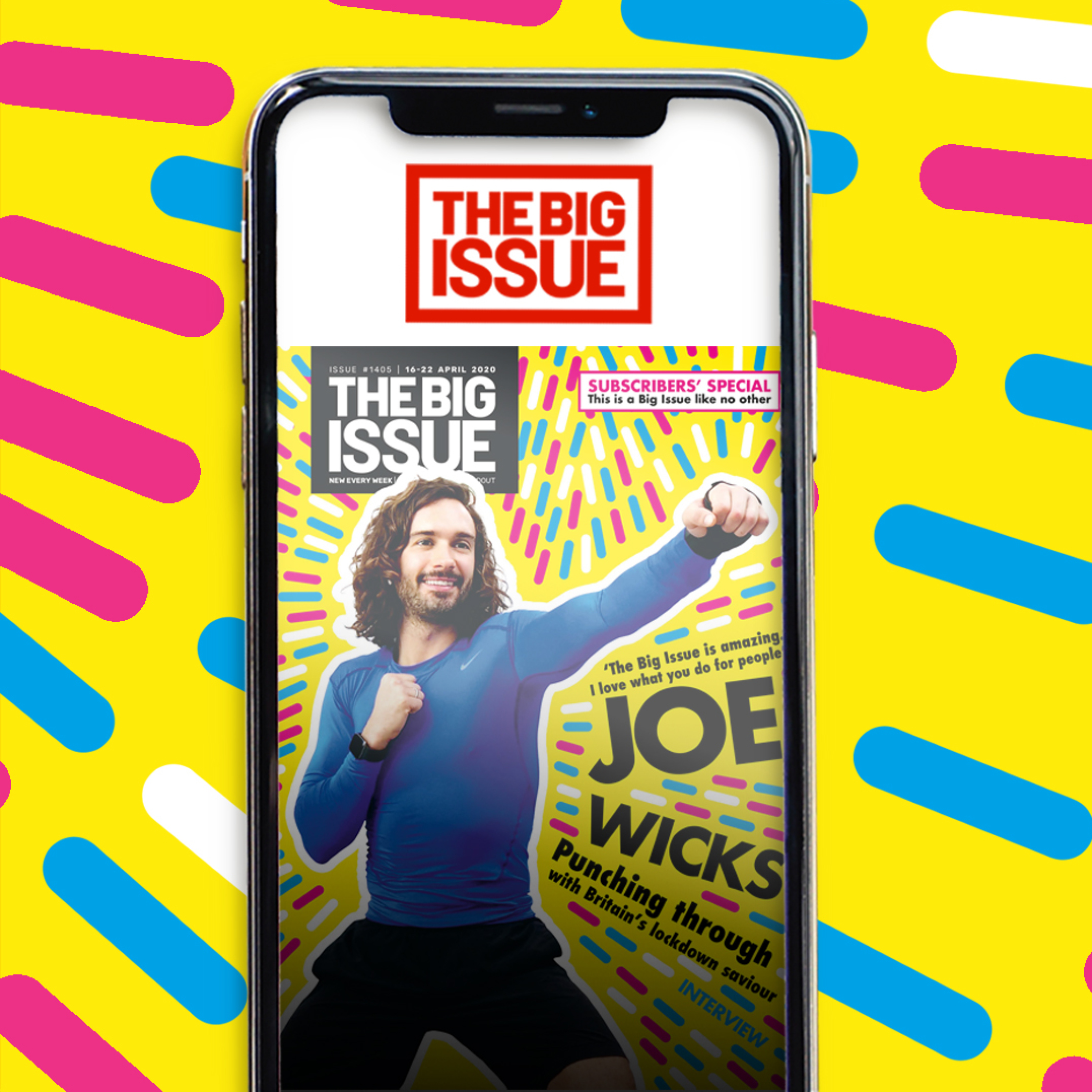 The Big Issue app