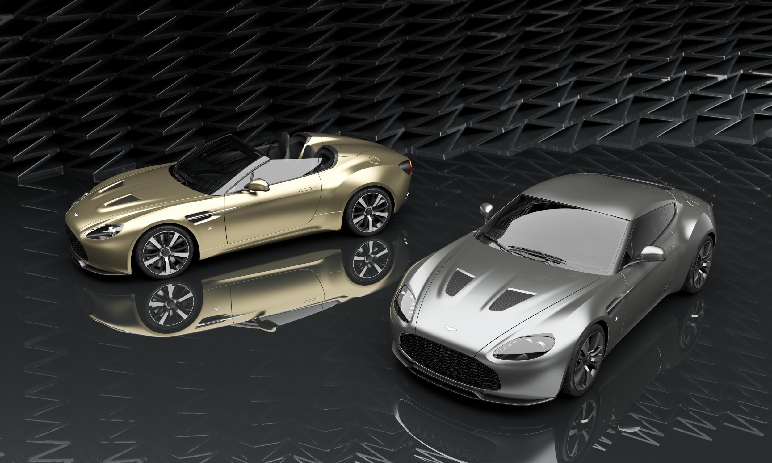 Aston Martin Zagato models