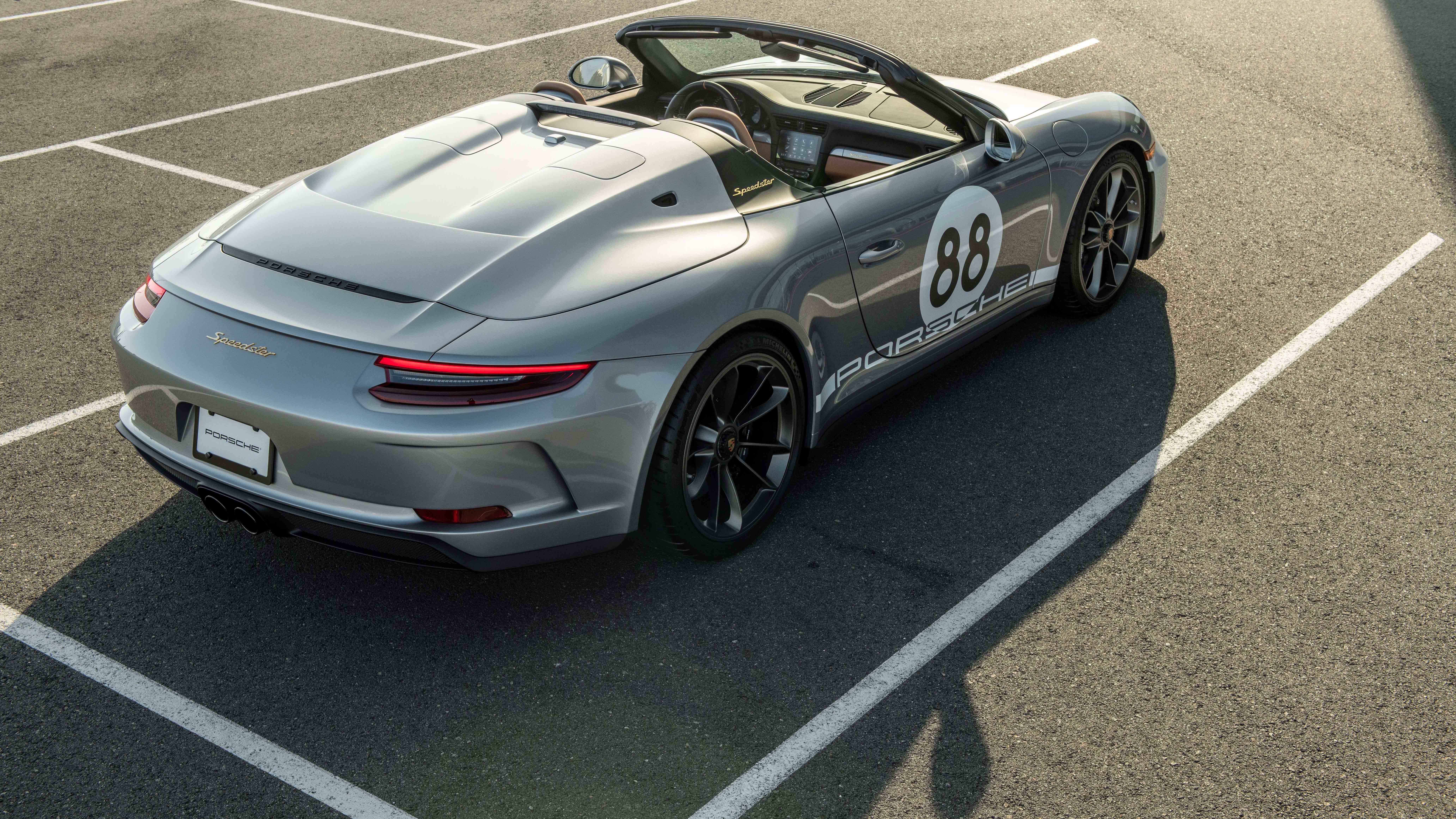 Porsche 911 Speedster that raised £1m for charity