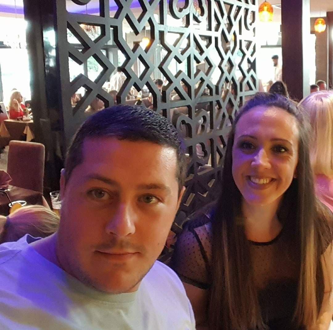 Ryan van Emmenis with wife Hayley