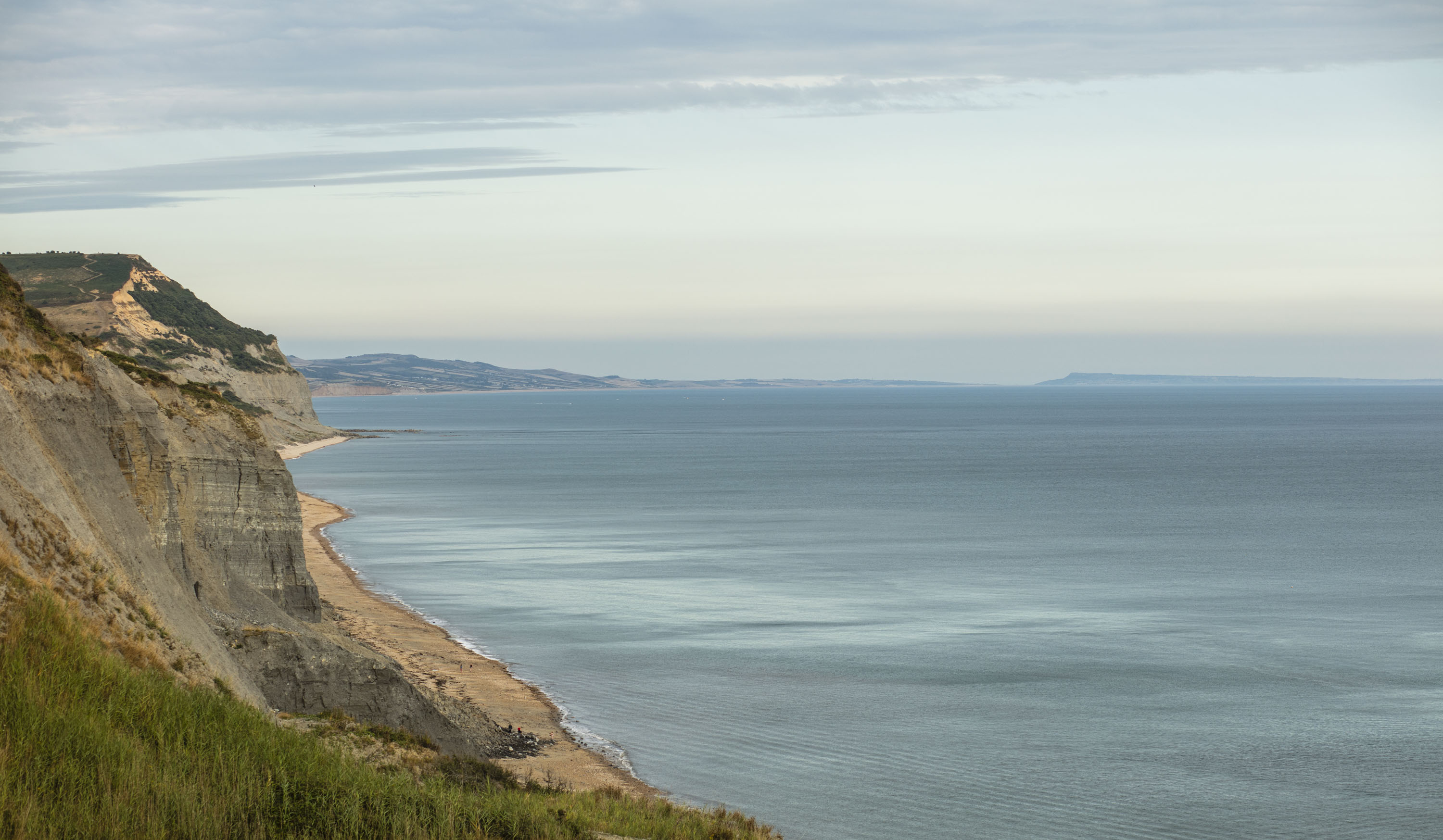 The Dorset coastline (Lloyd Russell/University of Plymouth/PA)