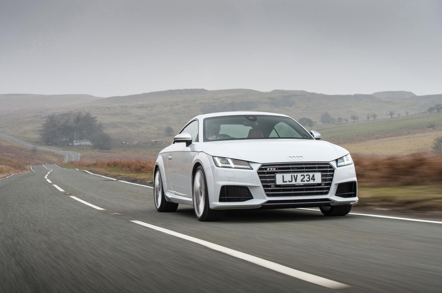 The Audi TTS Coupé