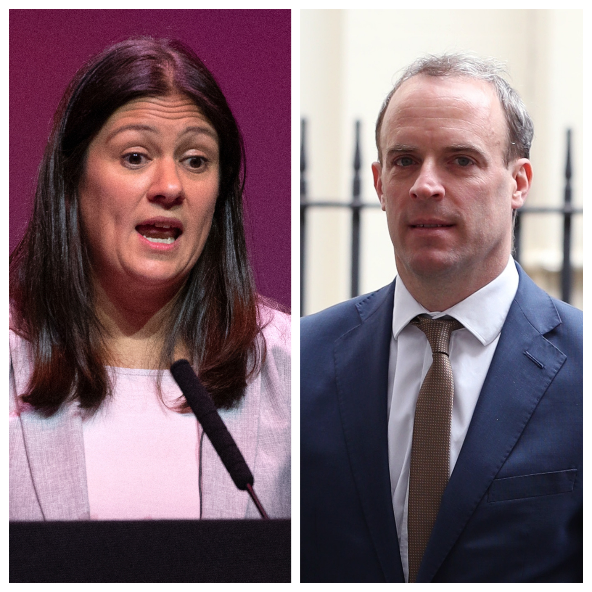 Lisa Nandy and Dominic Raab