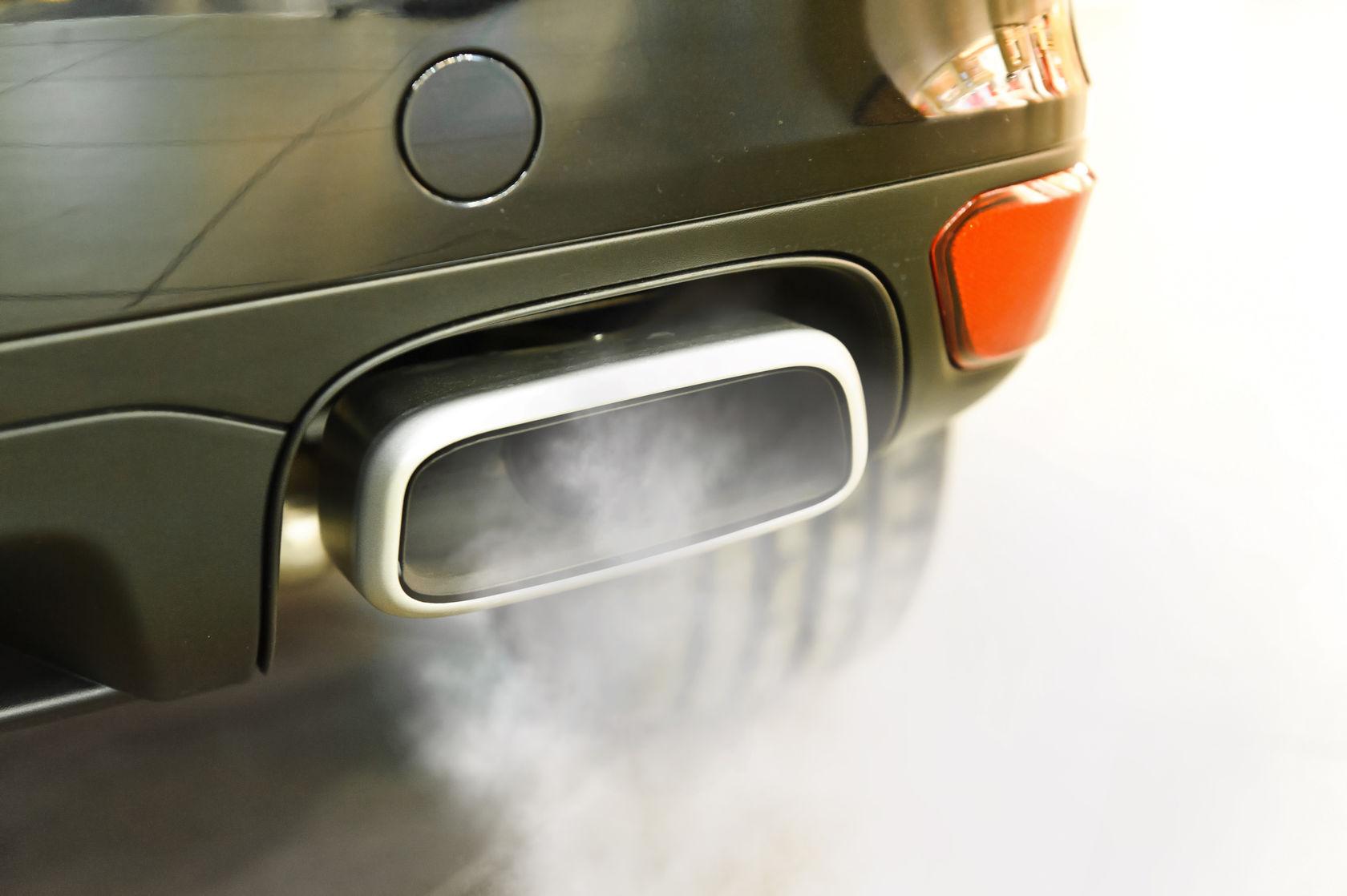 Exhaust shot
