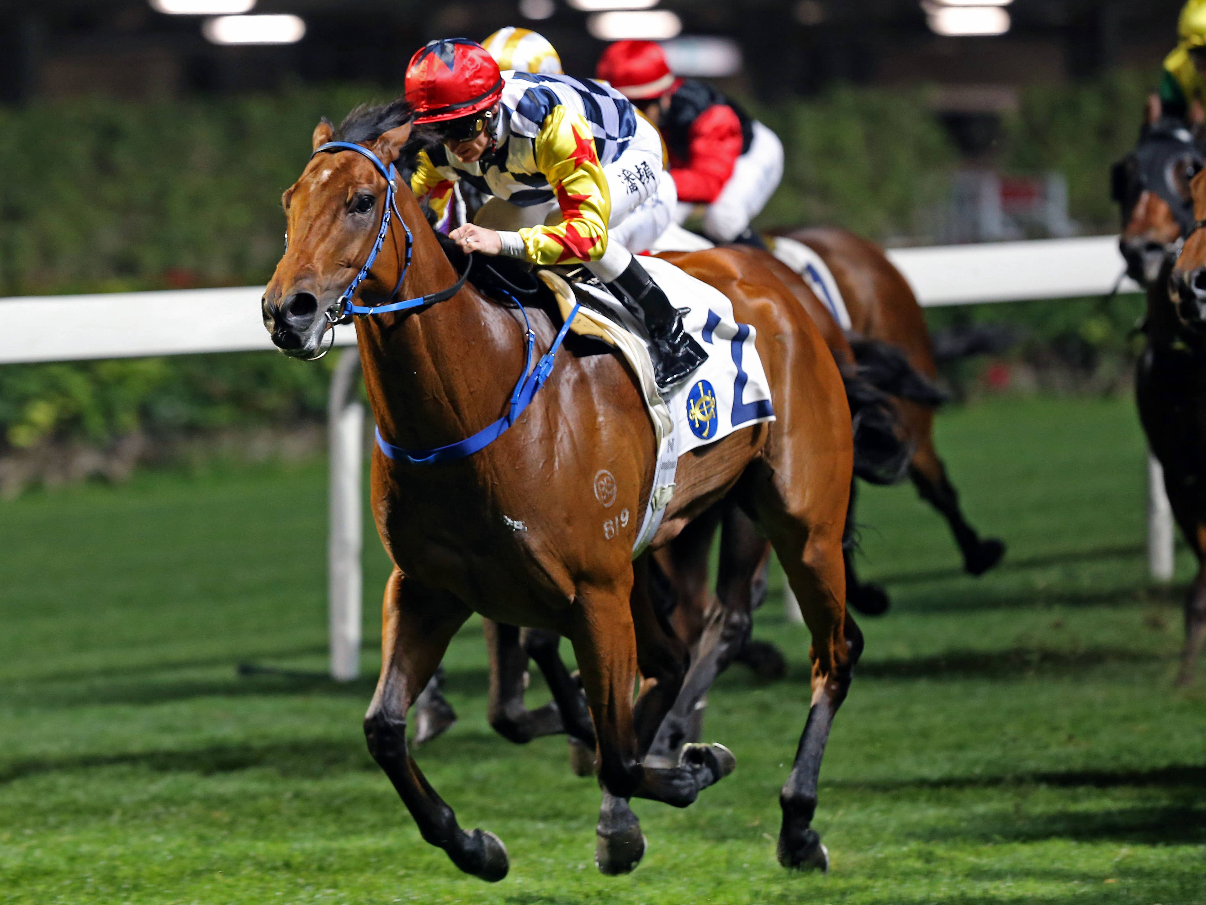 Amazing Star thrives at Happy Valley (HKJC)