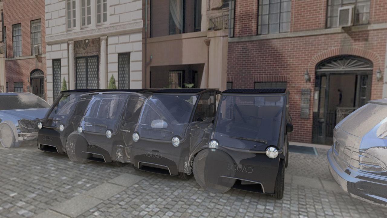 Squad City car