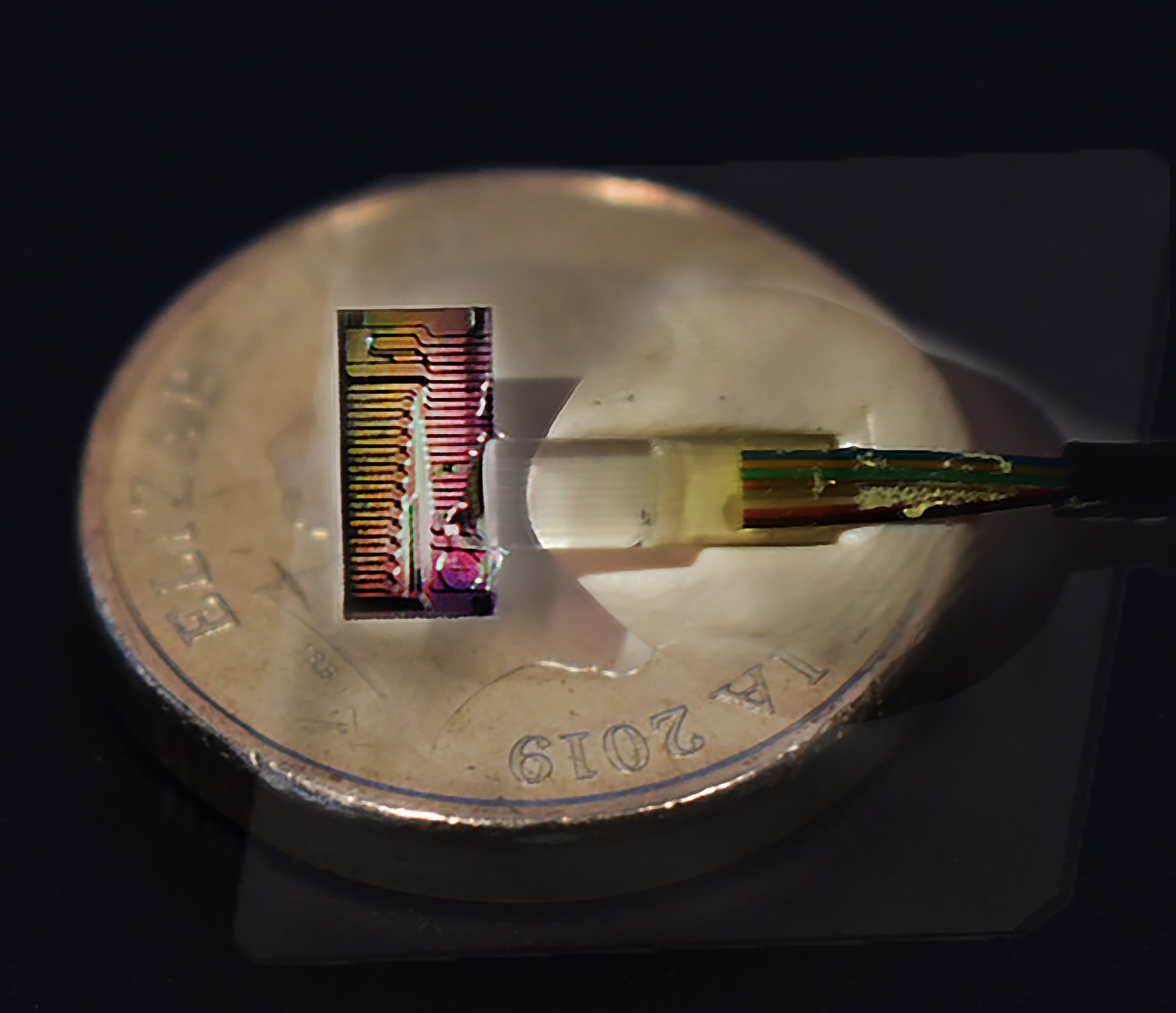 The Micro-Comb device used to record the record internet data speed