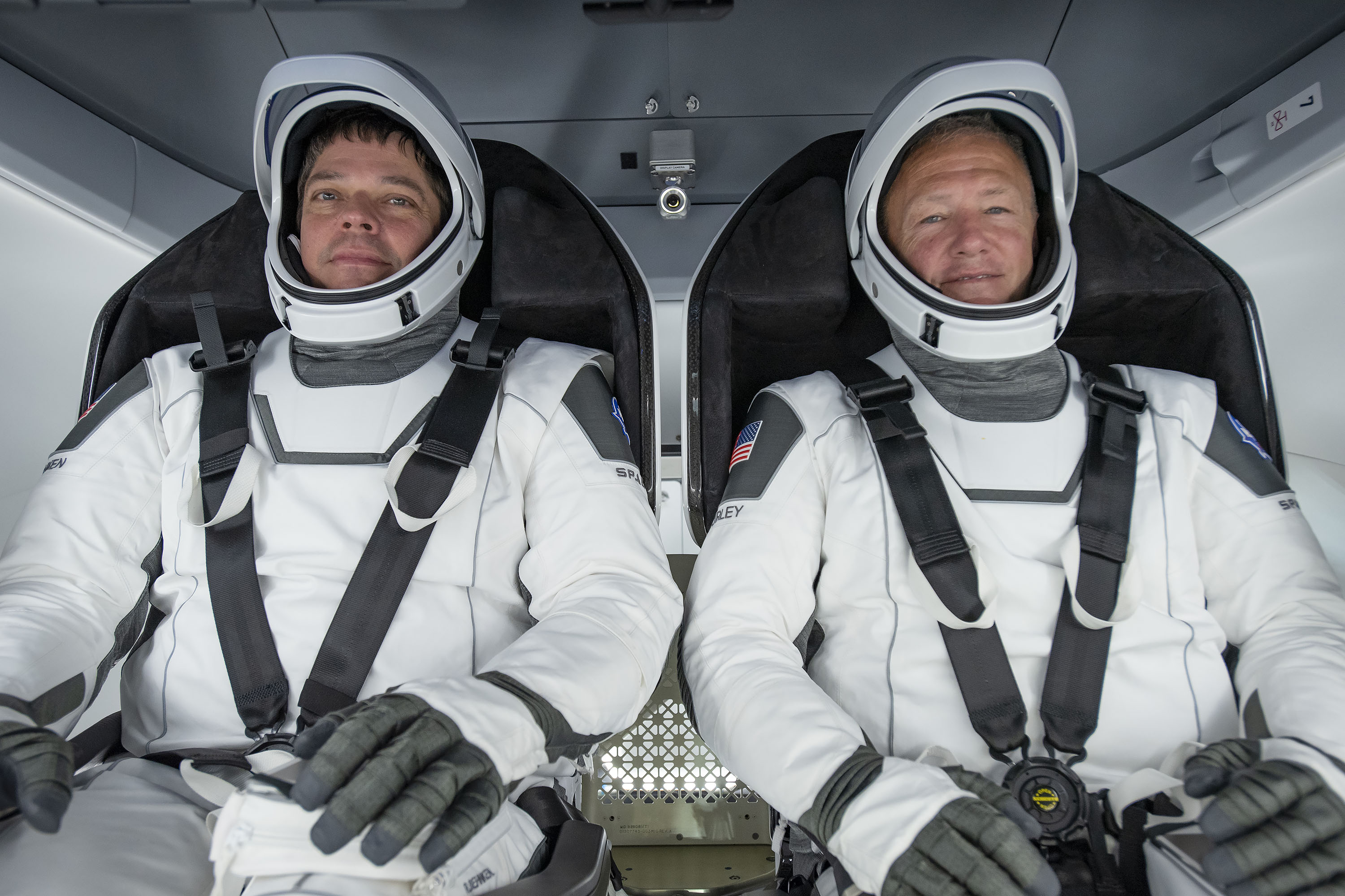 Nasa astronauts Bob Behnken and Doug Hurley