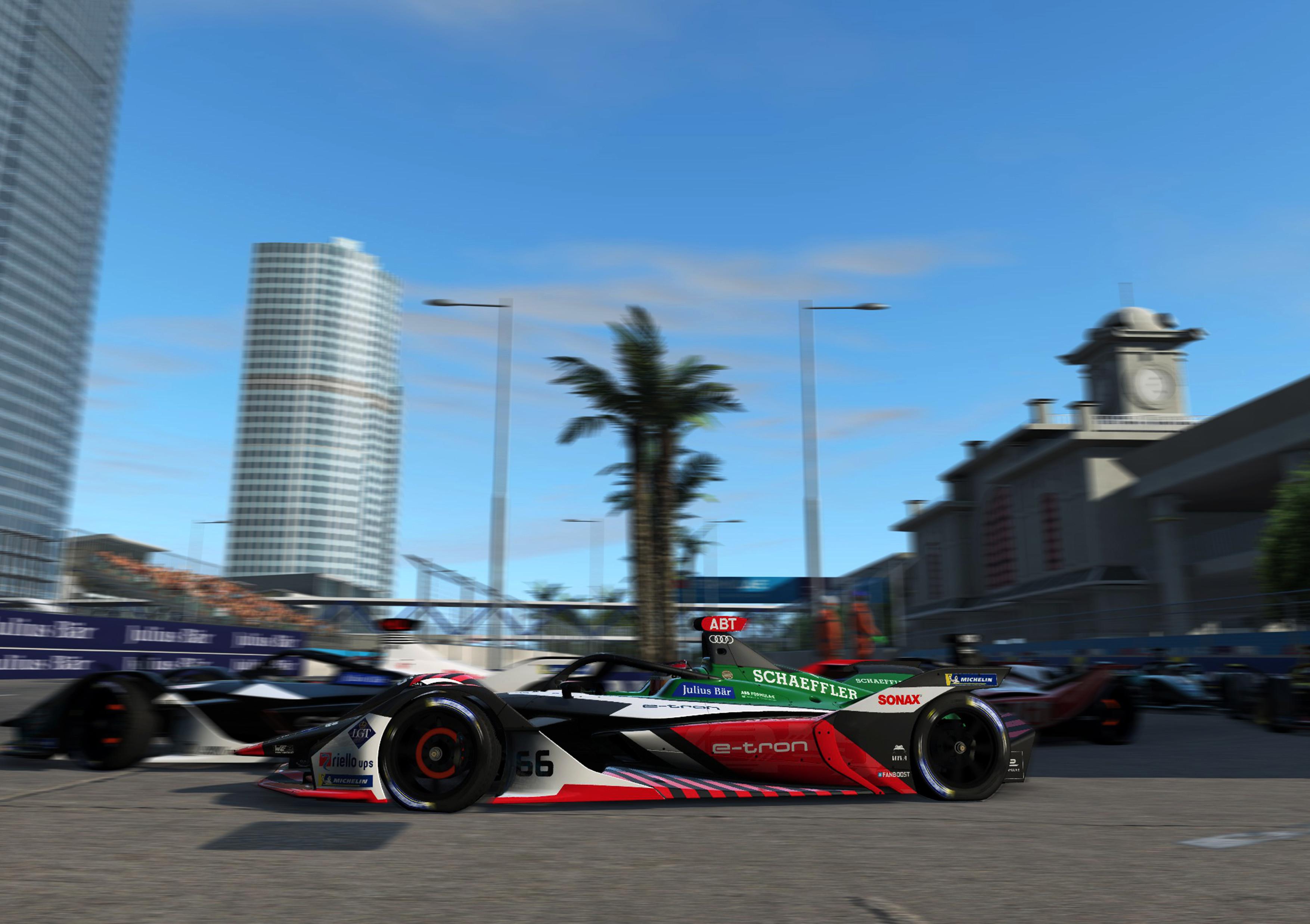 Formula E Race at Home Challenge, Hong Kong 2020