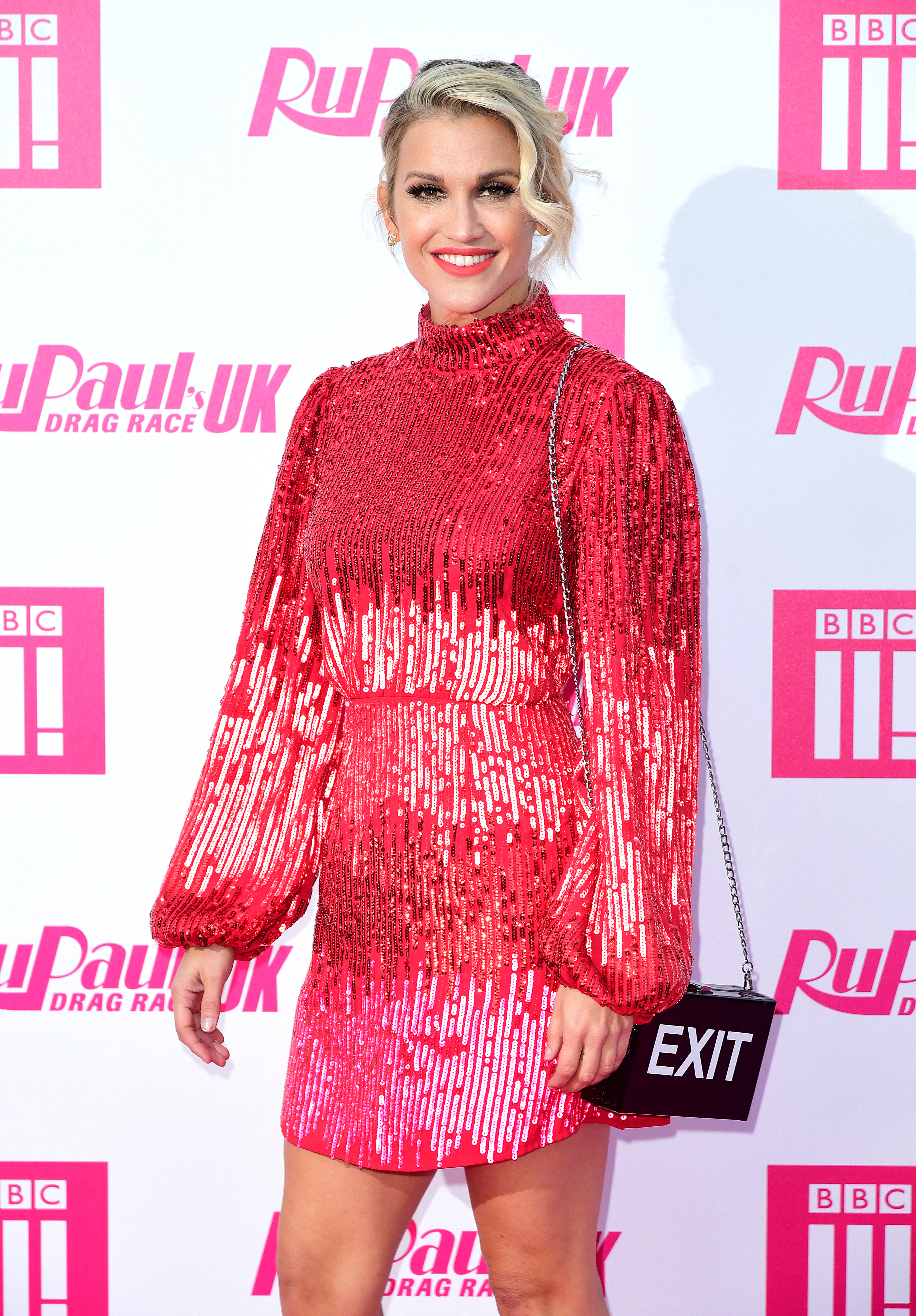 Ashley Roberts attending the RuPaul Drag race premiere 2019