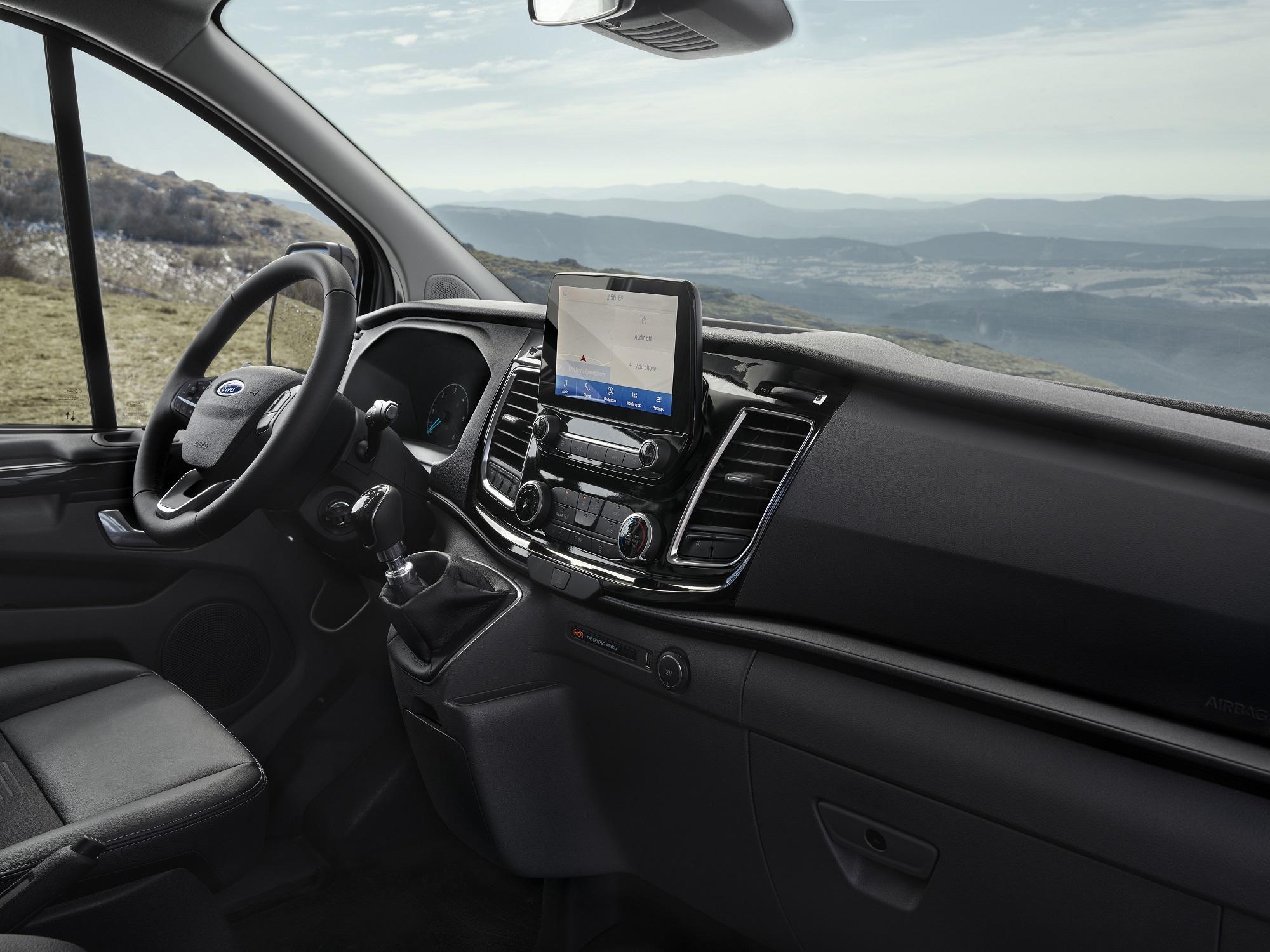 Ford Transit Custom Active interior