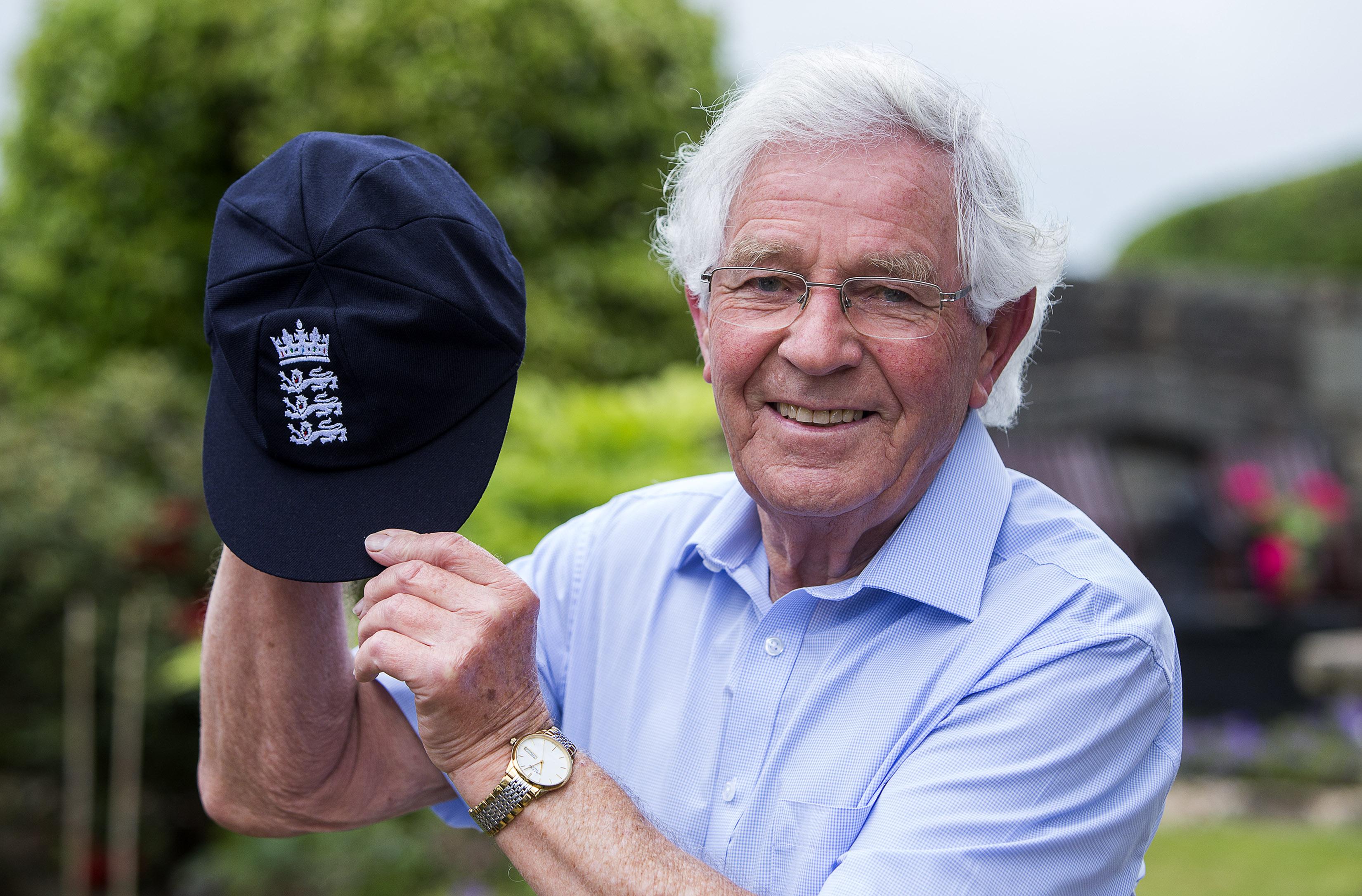Alan Jones has been formally awarded his England Test cap.