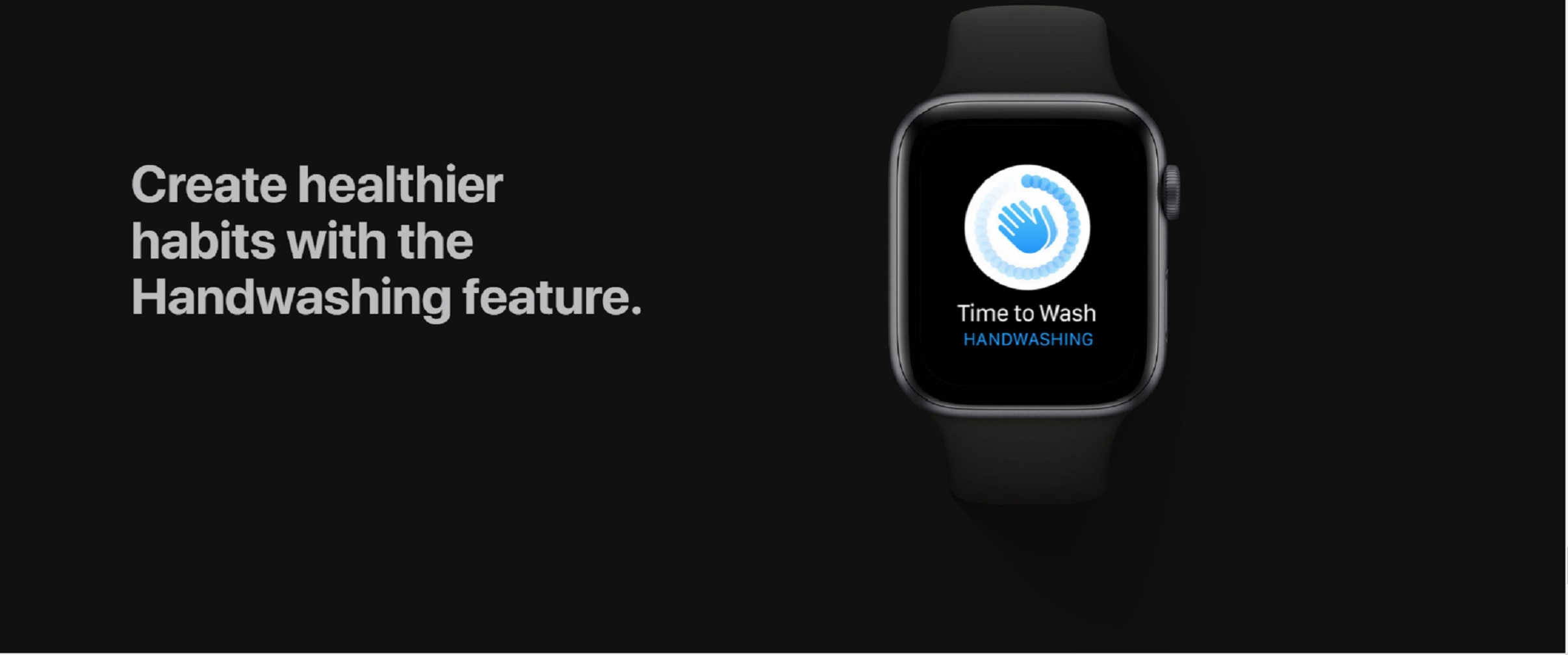 Apple Watch hand washing feature
