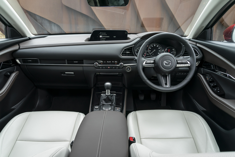 CX-30 interior